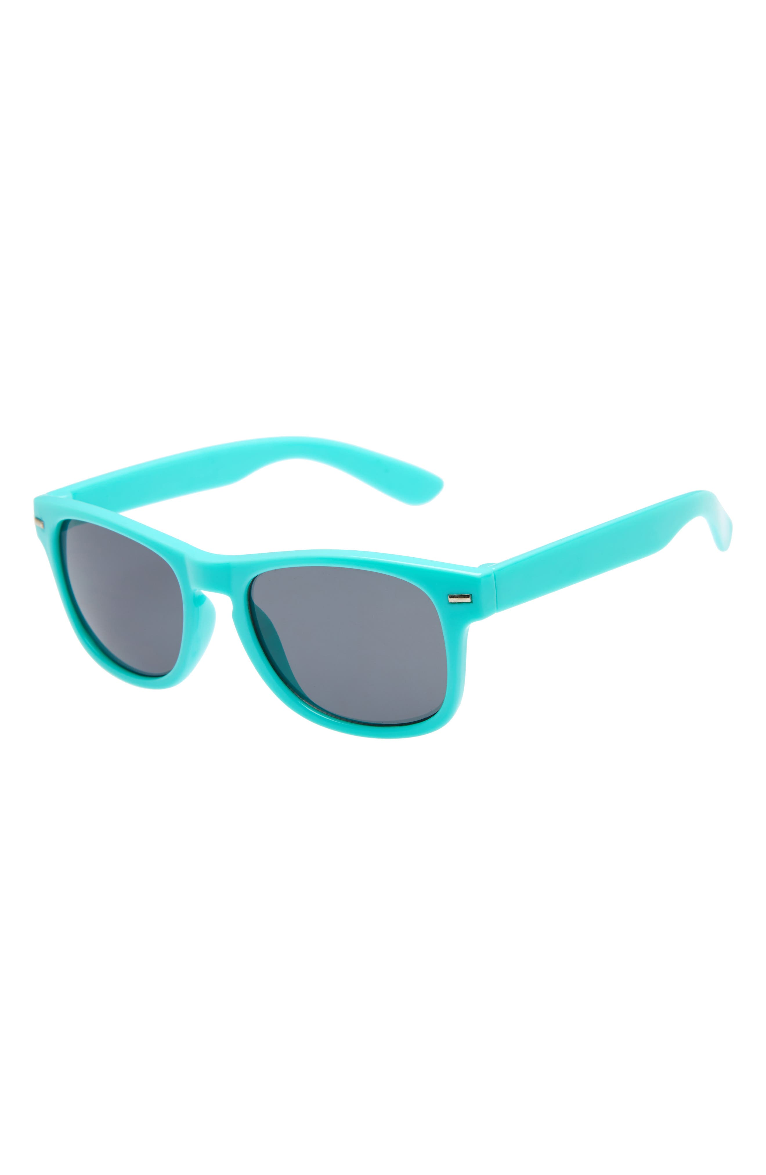 Mirrored Sunglasses,                             Main thumbnail 1, color,                             Blue Combo