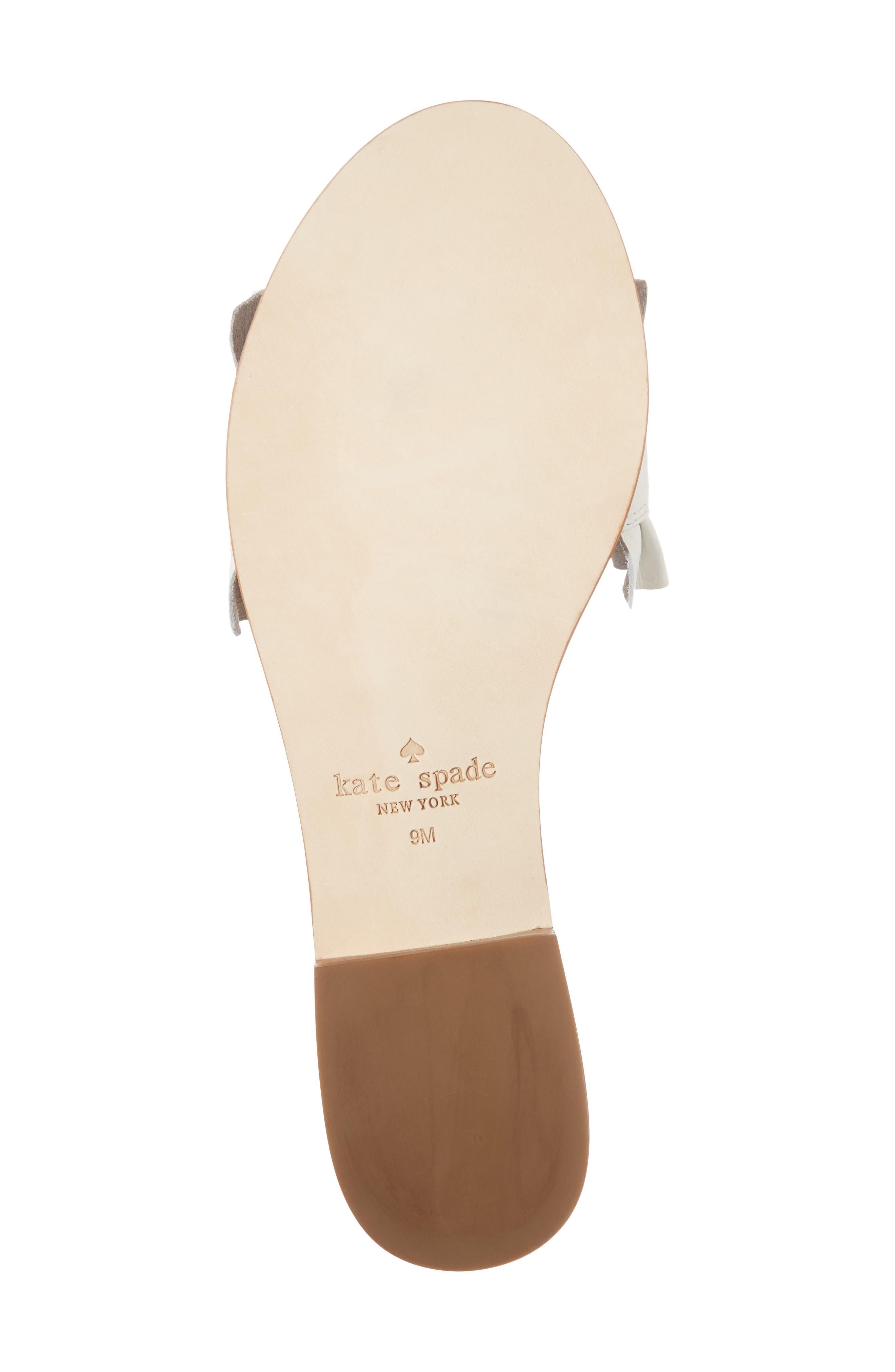 Alternate Image 6  - kate spade new york beau slide sandal (Women)
