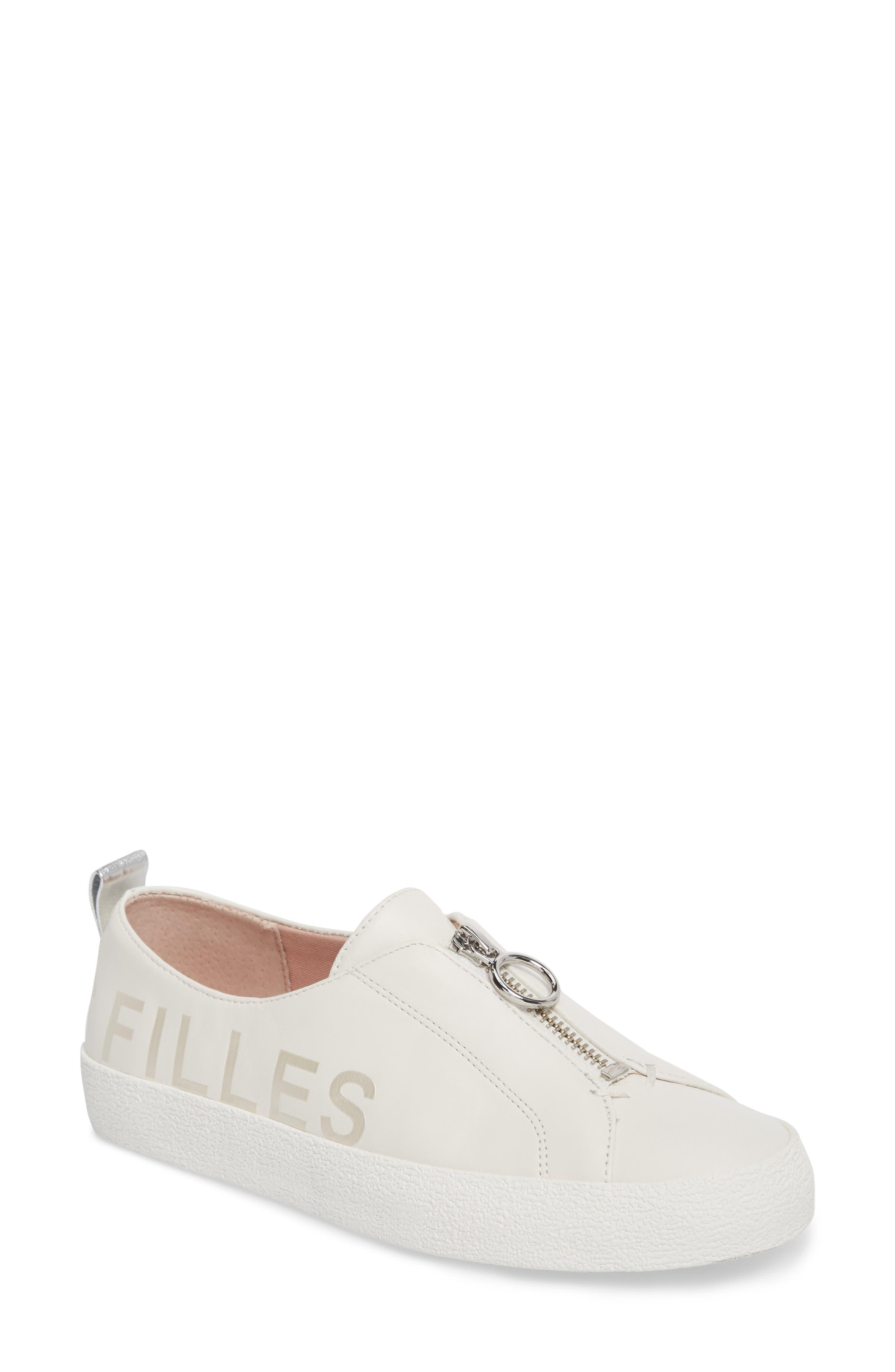 AVEC LES FILLES Women's Sasha Zip Sneaker