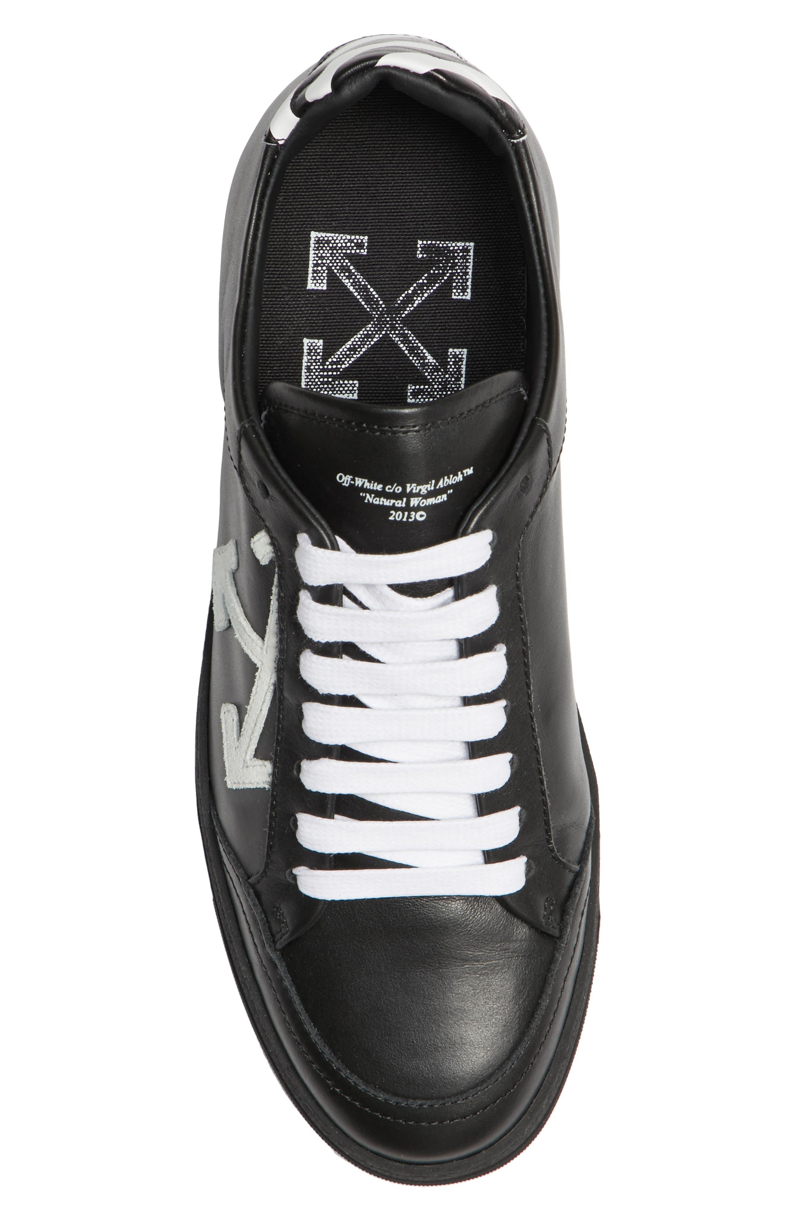 Arrow Sneaker,                             Alternate thumbnail 5, color,                             Black White