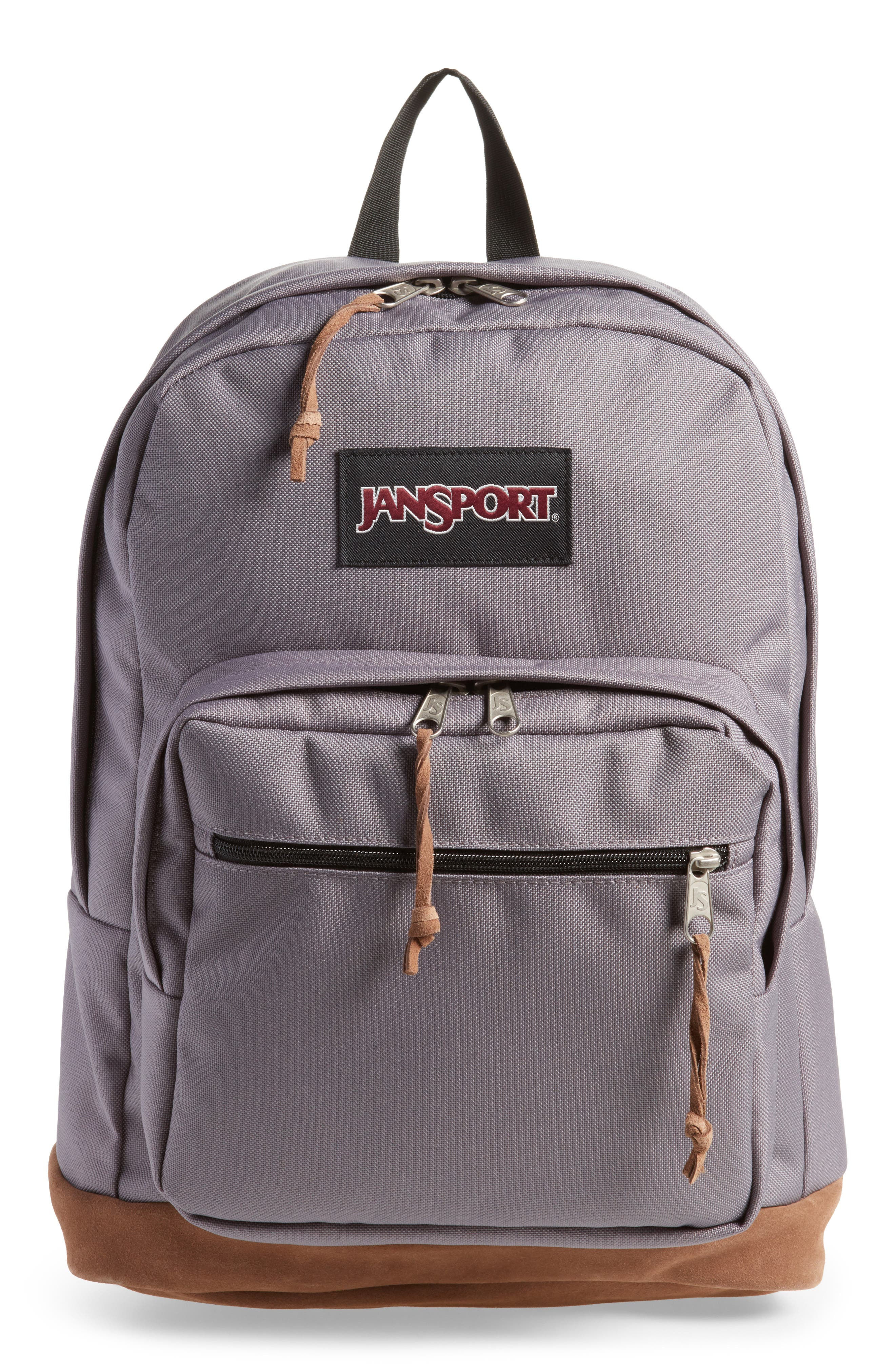 Right Pack Backpack,                         Main,                         color, Grey Horizon