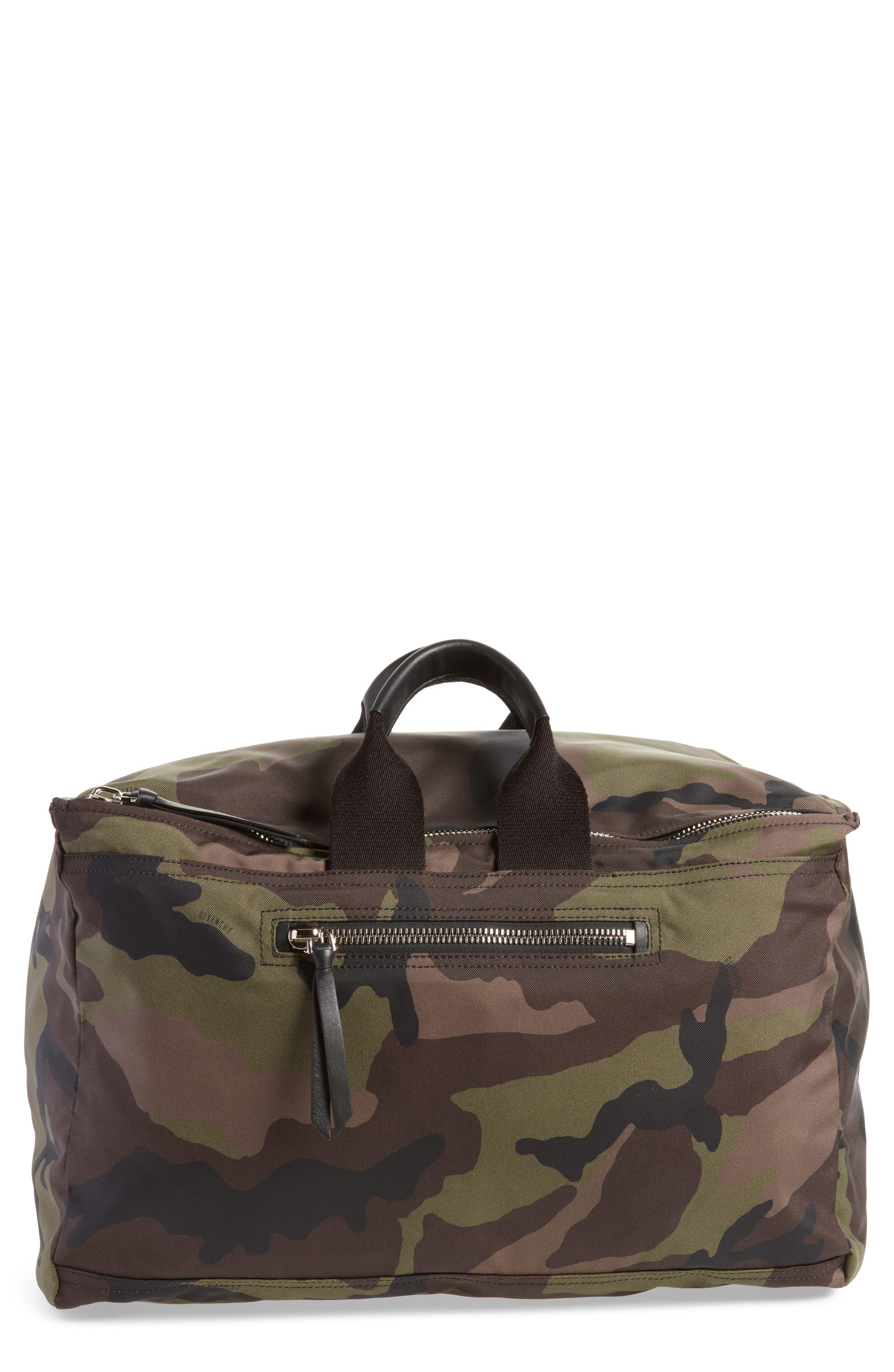Givenchy Pandora Camo Convertible Backpack