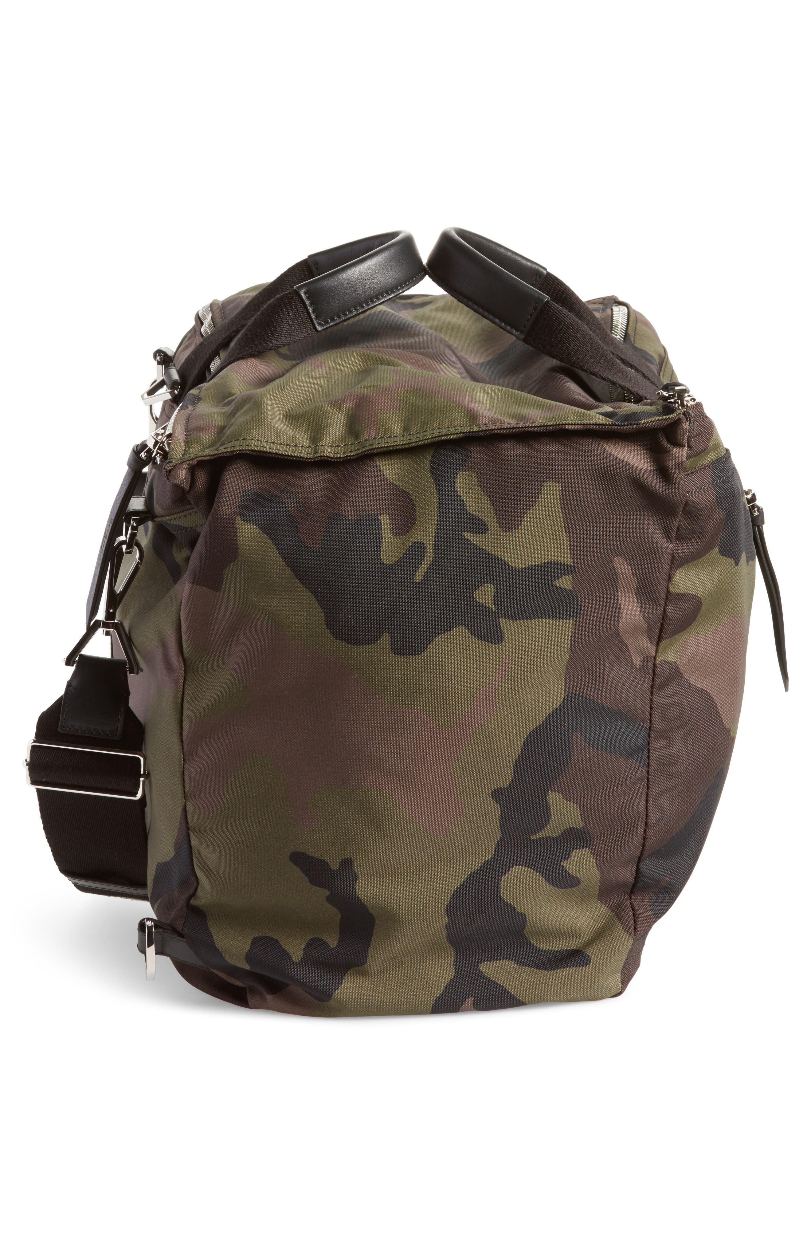 Pandora Camo Convertible Backpack,                             Alternate thumbnail 6, color,                             Multicolored