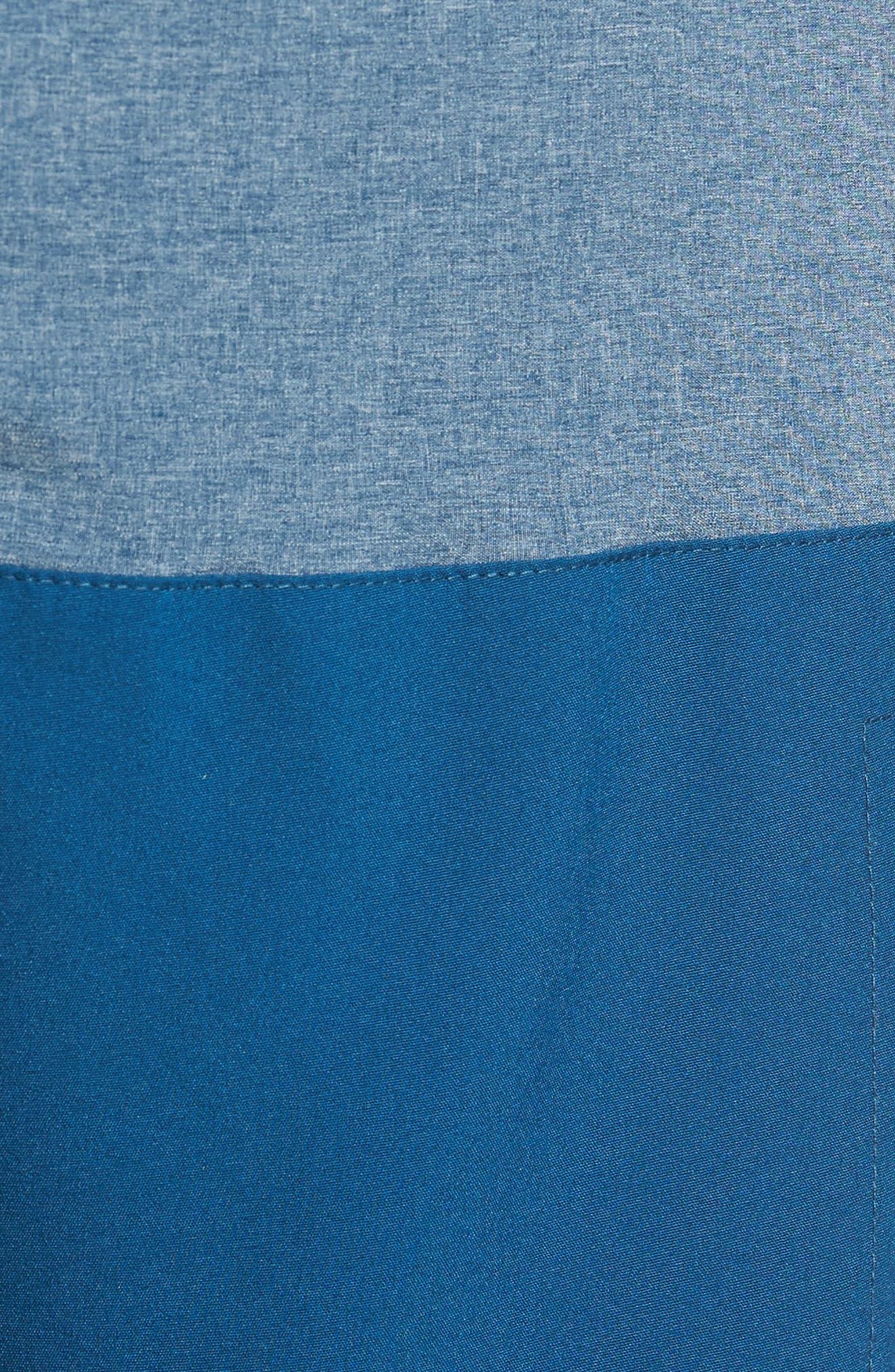 Split Board Shorts,                             Alternate thumbnail 5, color,                             Blue Force