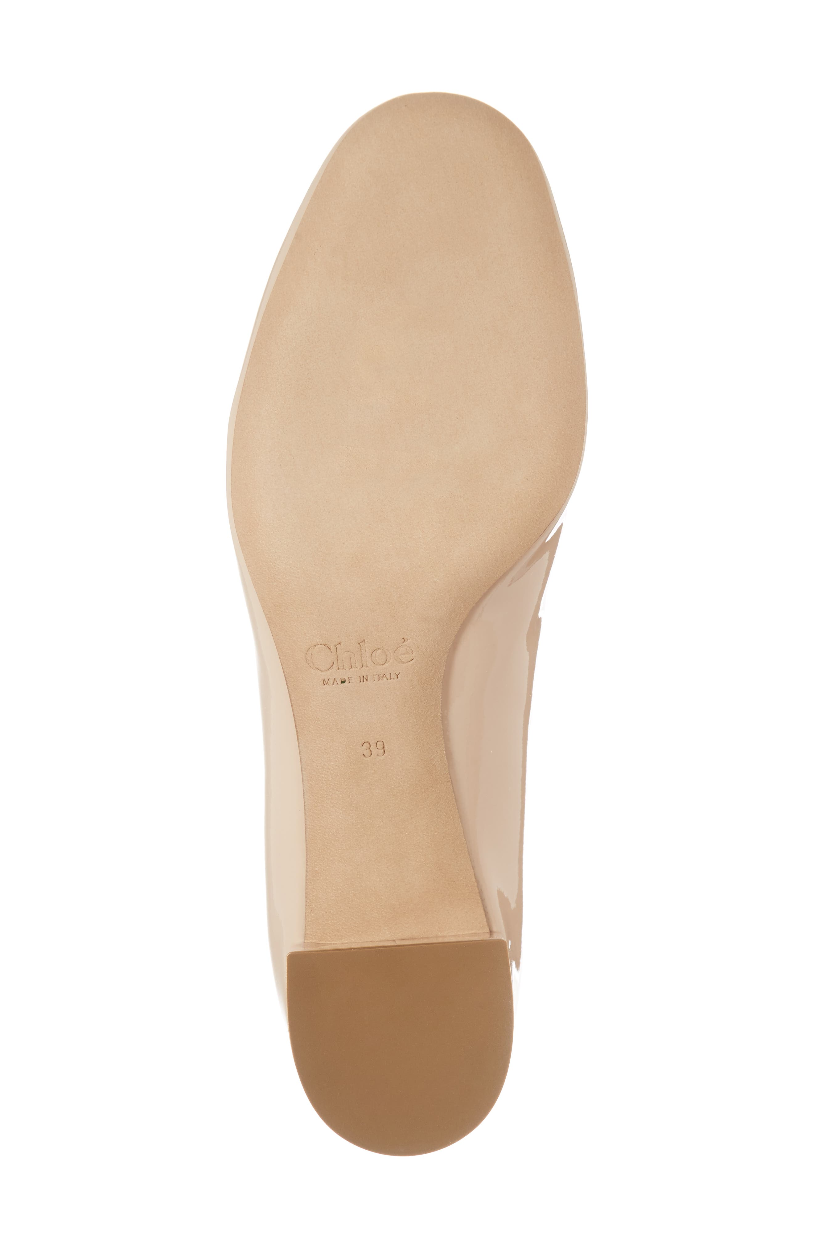 Lauren Pump,                             Alternate thumbnail 6, color,                             Mild Beige Patent
