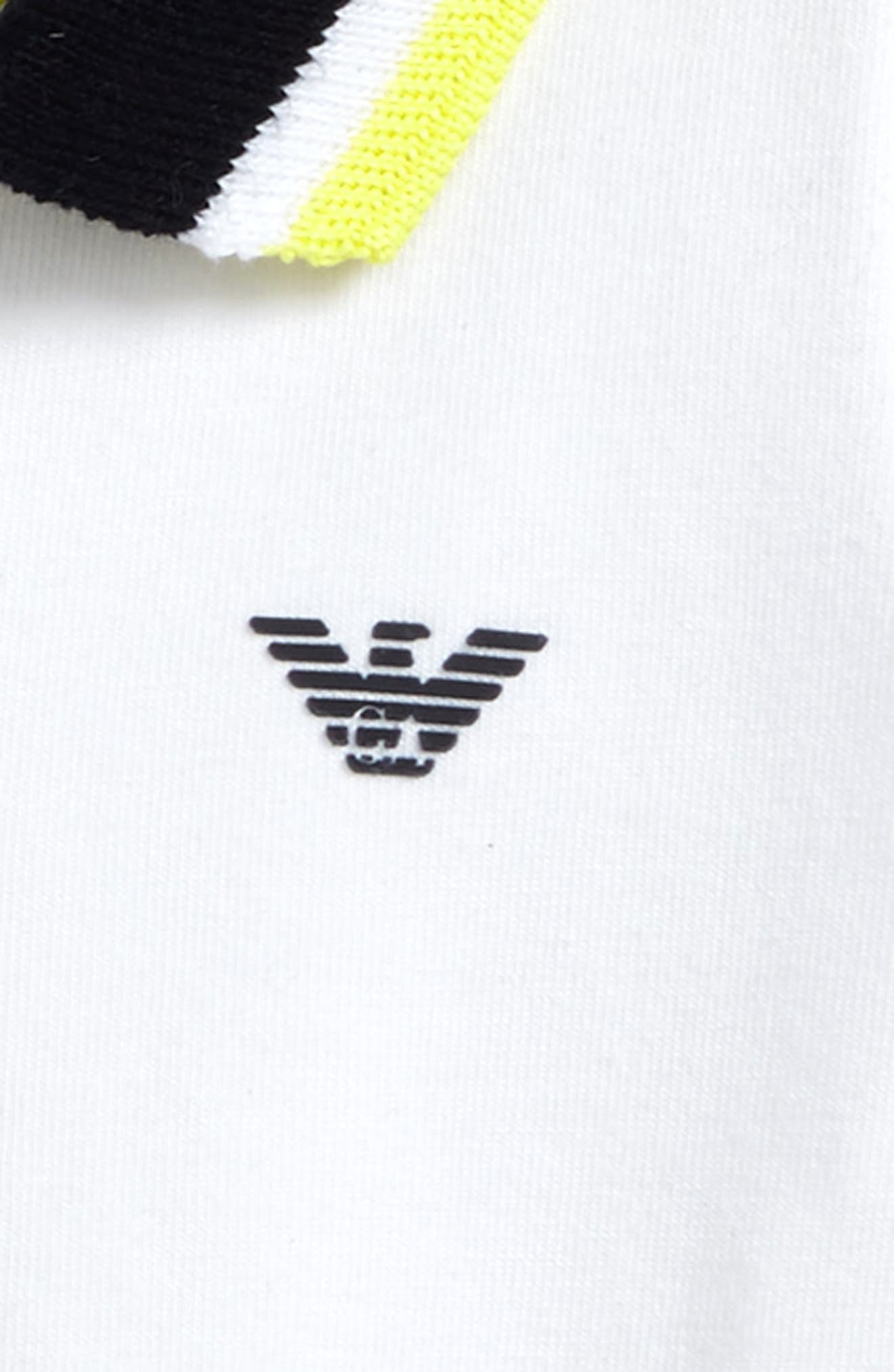 Contrast Polo,                             Alternate thumbnail 2, color,                             Yellow