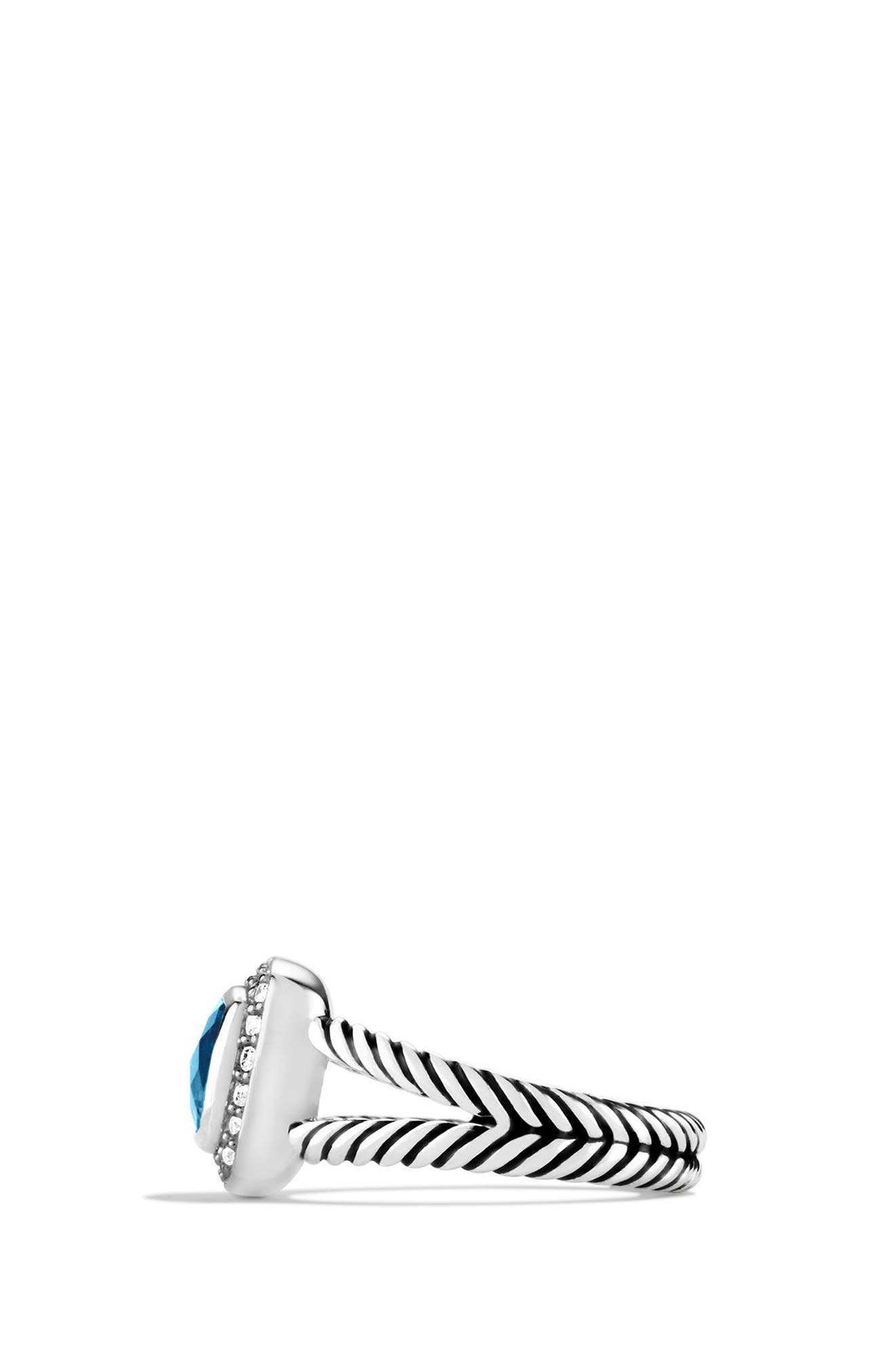 Alternate Image 2  - David Yurman Petite Albion® Ring with Diamonds