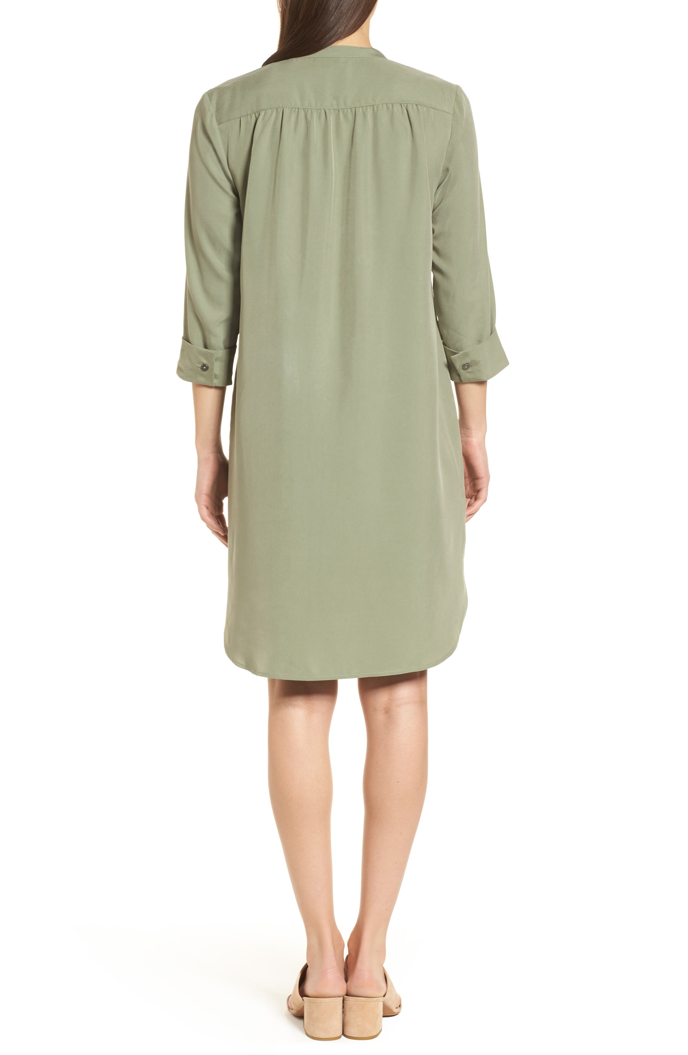 Wanderlust Shirtdress,                             Alternate thumbnail 2, color,                             Spring Moss