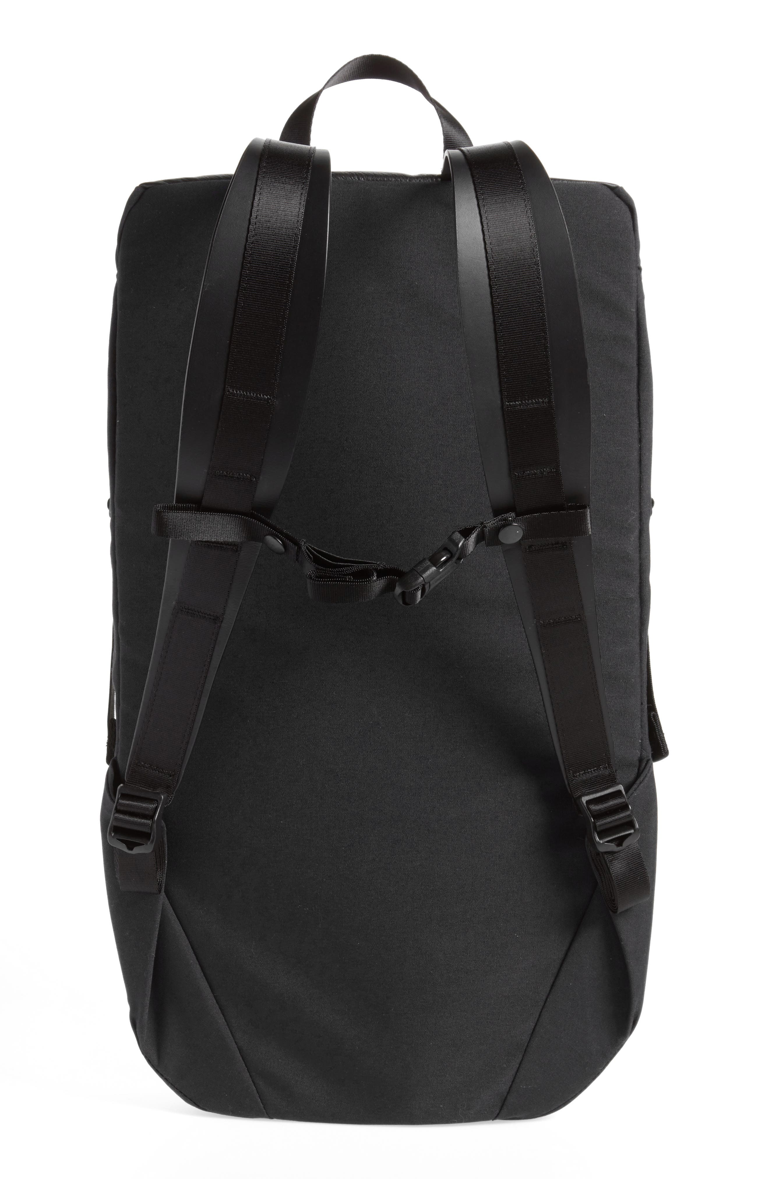 Quick Pack Lux Backpack,                             Alternate thumbnail 3, color,                             Black
