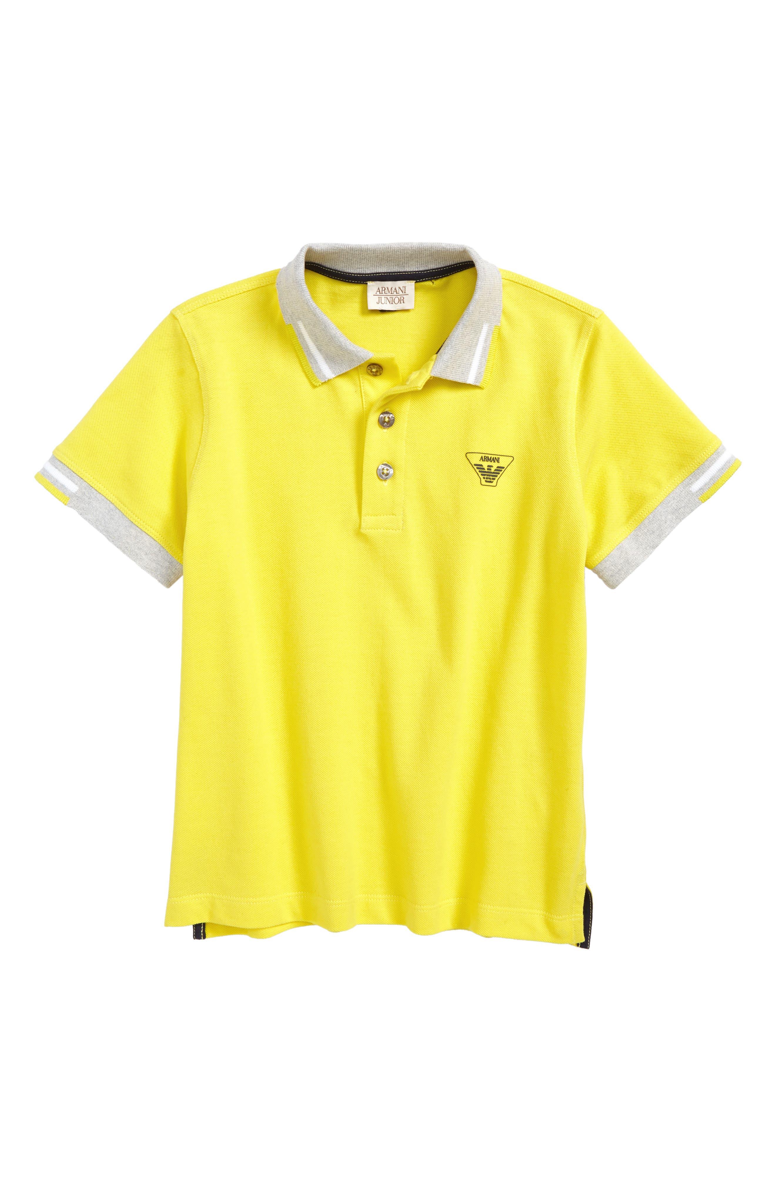 Entry Polo,                         Main,                         color, Yellow