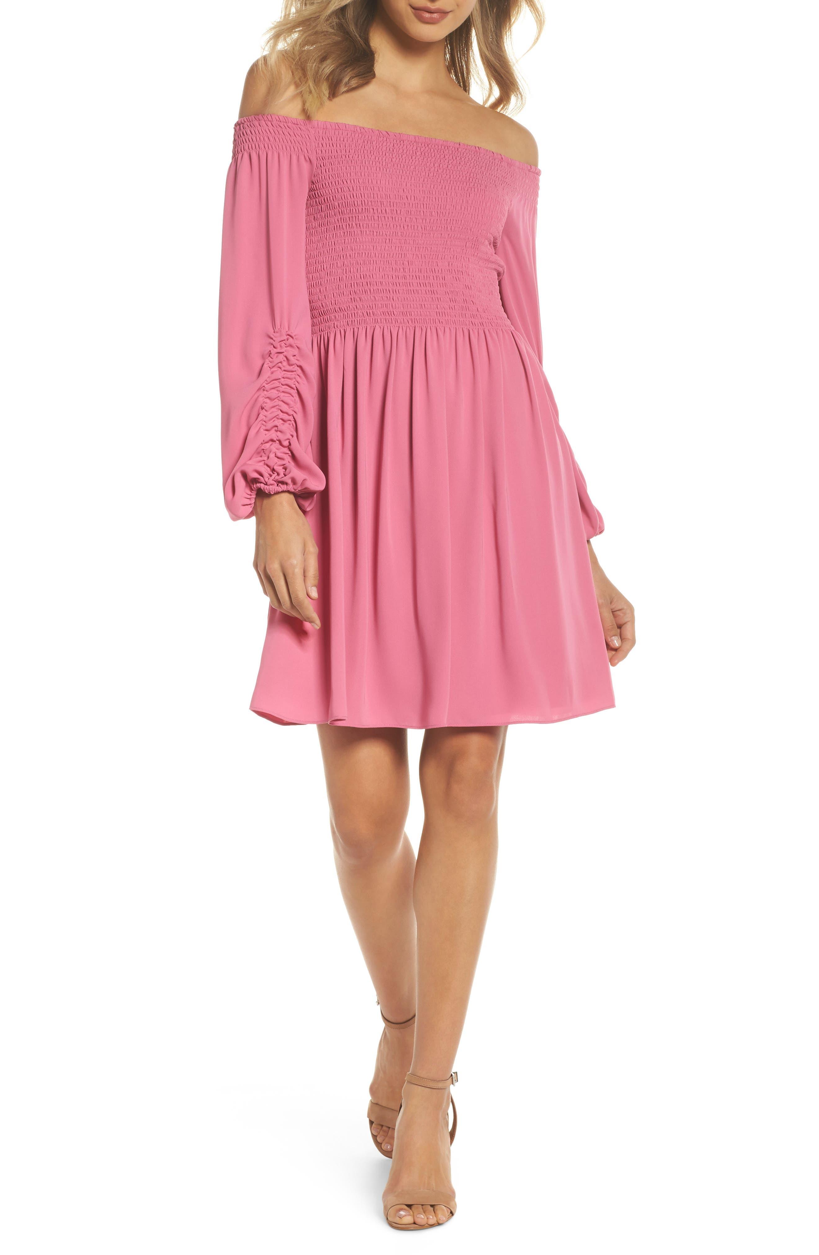 Alternate Image 1 Selected - Kobi Halperin Nina Off the Shoulder Dress (Nordstrom Exclusive)
