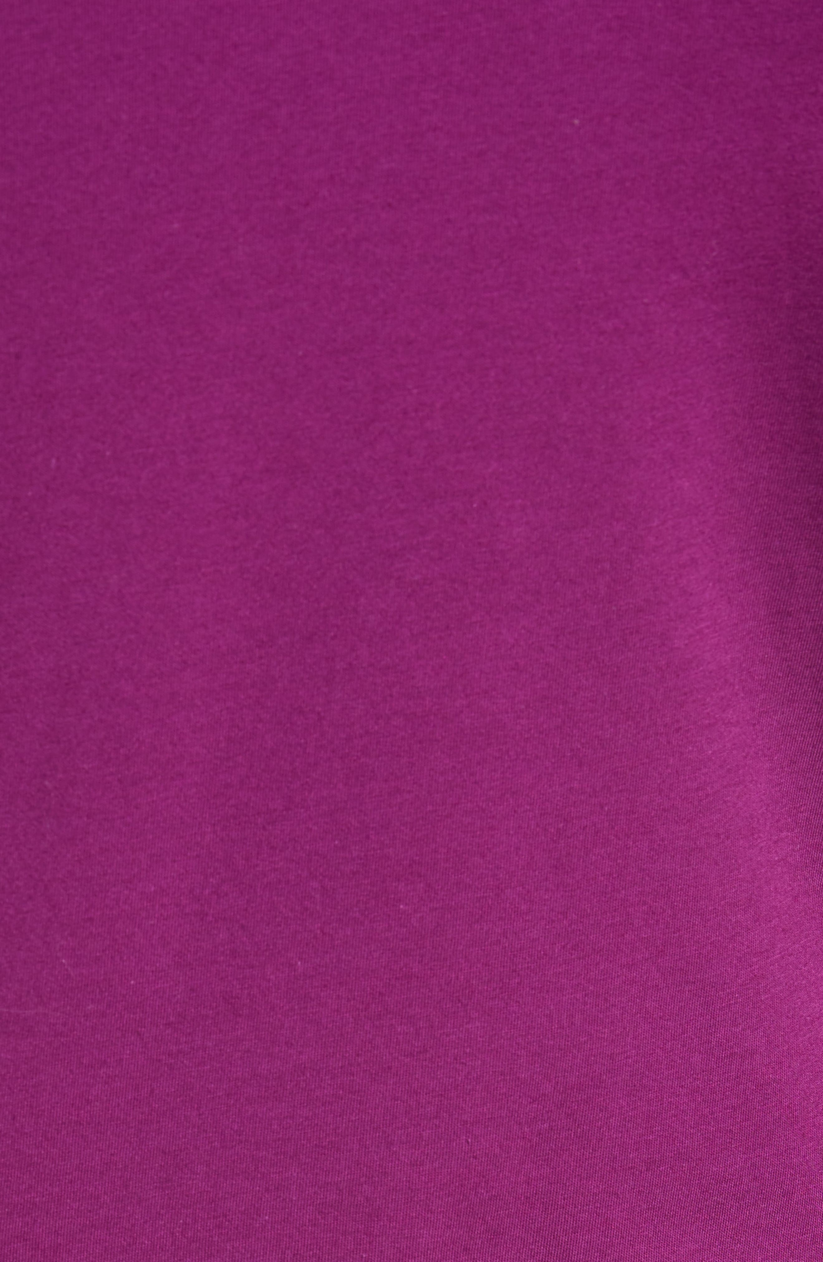 Derry Modern Slim Fit Polo,                             Alternate thumbnail 5, color,                             Deep Purple