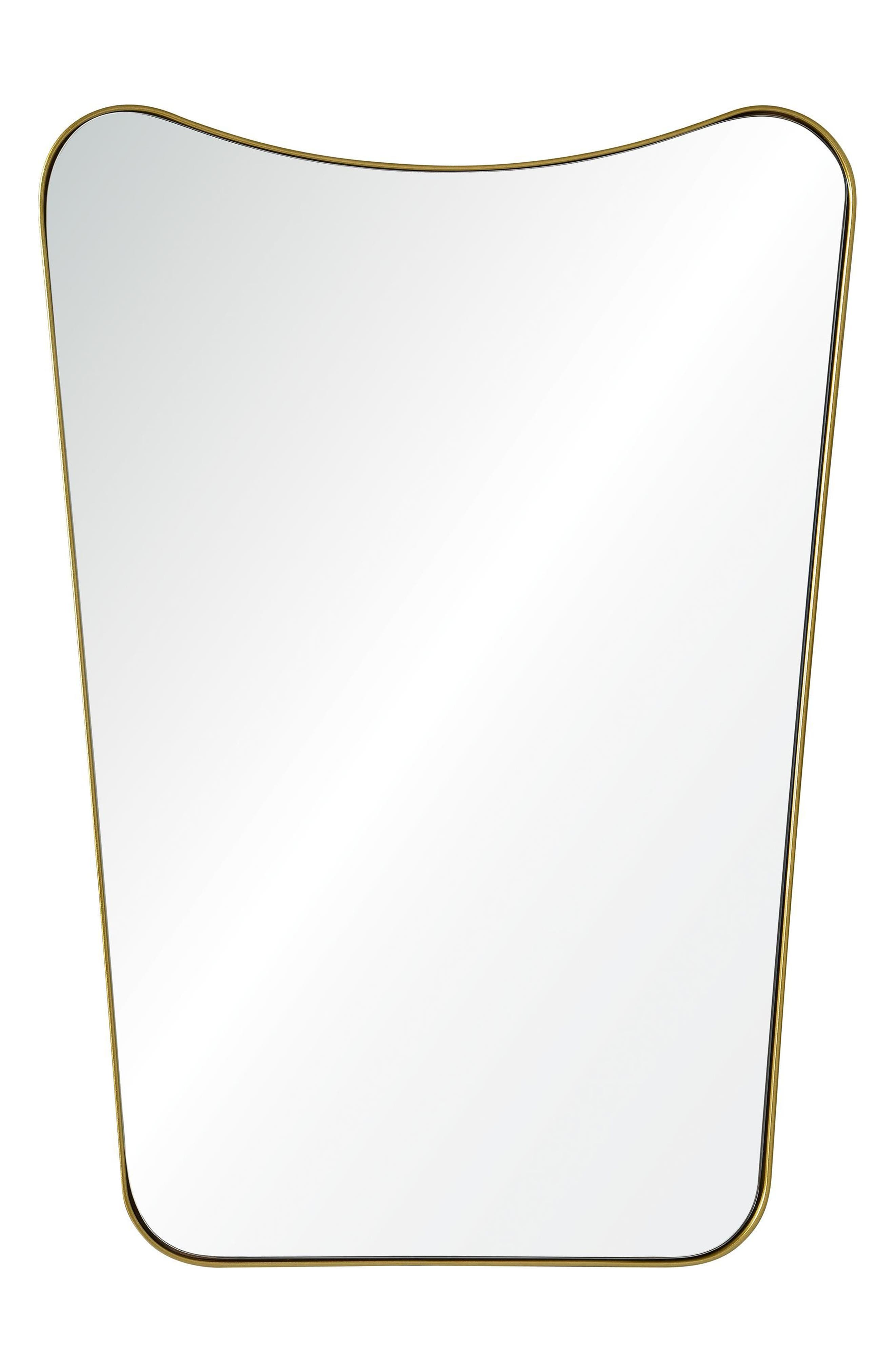 Tufa Mirror,                         Main,                         color, Gold Powder Coated