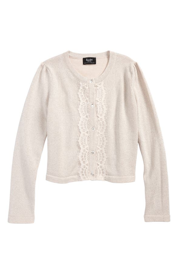 Bardot Junior Lace Cardigan (Big Girls) | Nordstrom