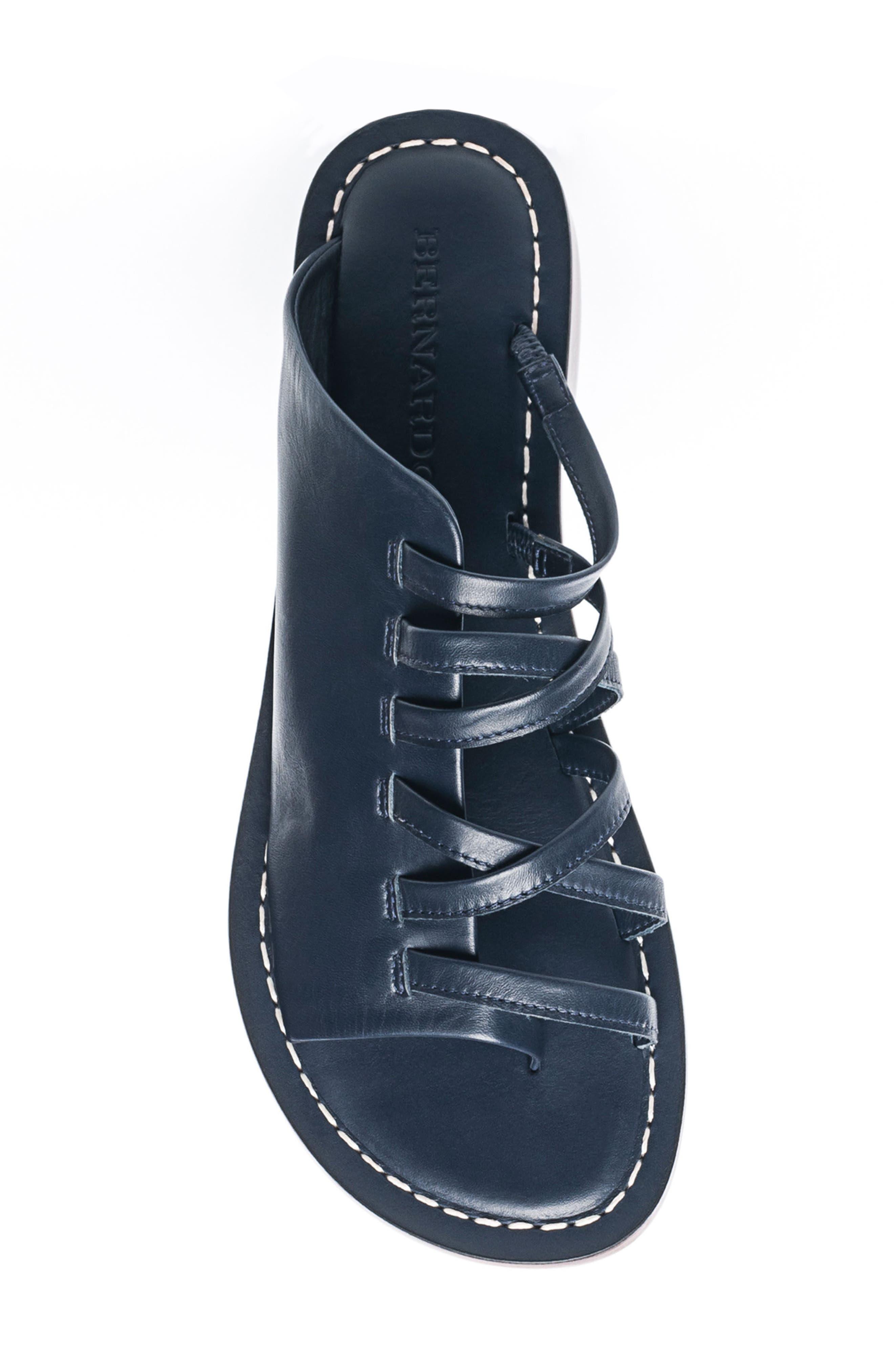 Alternate Image 5  - Bernardo Tori Slide Sandal (Women)