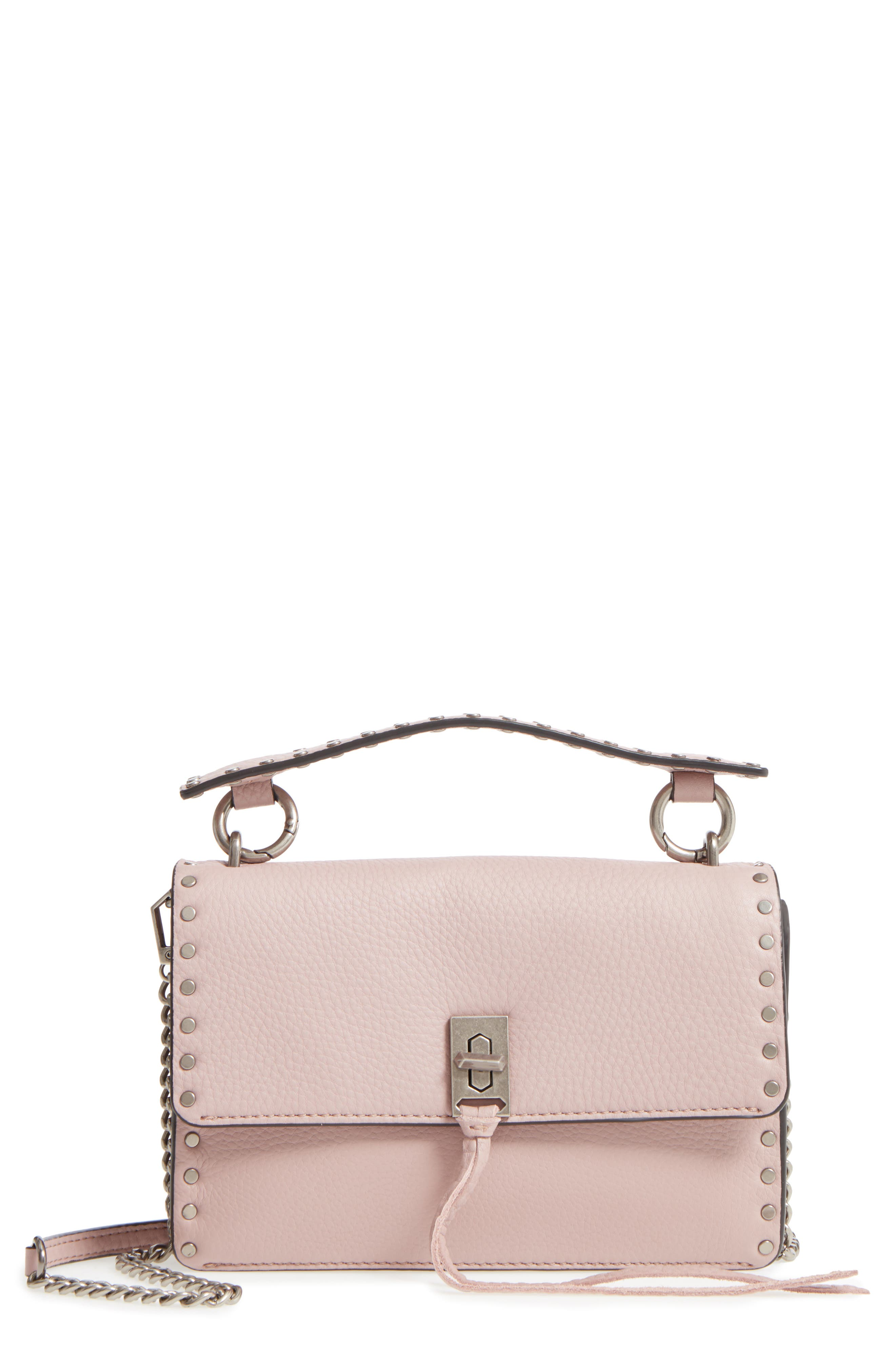 Darren Top Handle Crossbody Bag,                         Main,                         color, Vintage Pink