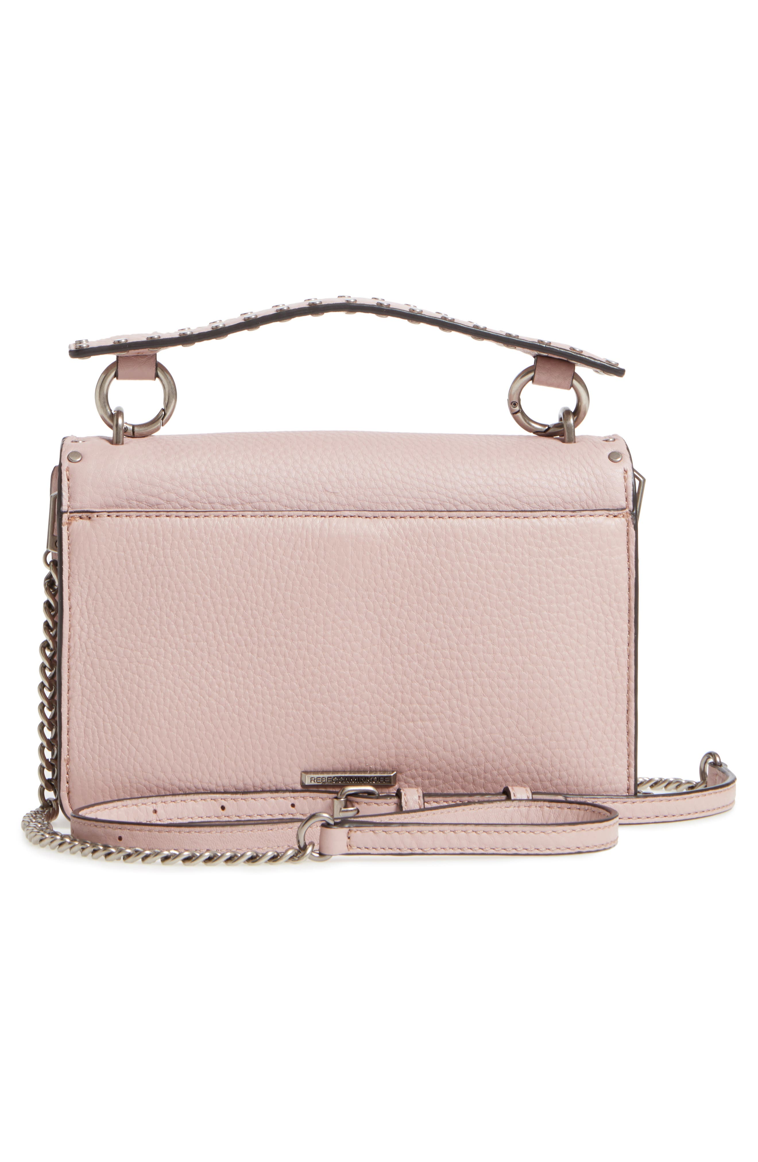 Darren Top Handle Crossbody Bag,                             Alternate thumbnail 2, color,                             Vintage Pink