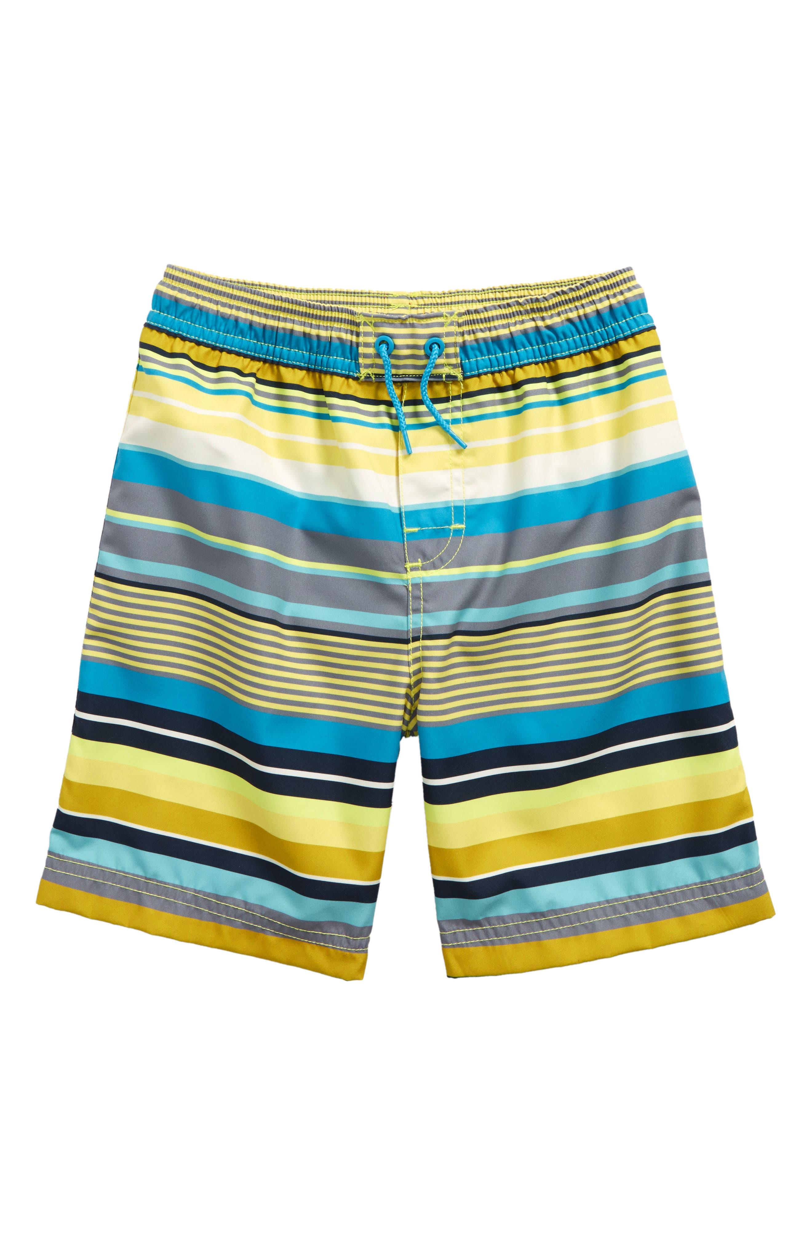 Tea Collection Dawn Patrol Swim Trunks (Toddler Boys & Little Boys)