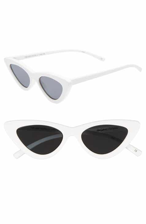 dcd9f19ac3 Adam Selman x Le Specs Luxe Lolita 49mm Cat Eye Sunglasses