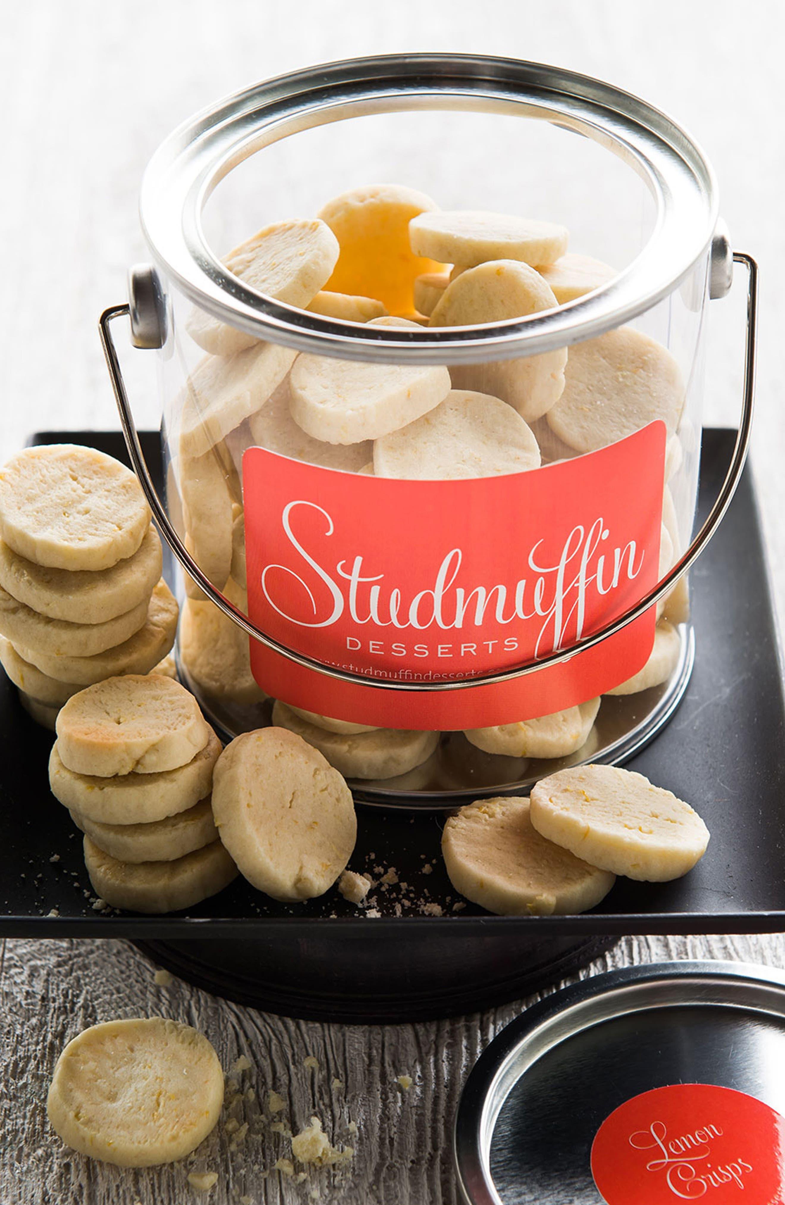 Stud Buckets Lemon Crisps Cookie Bites
