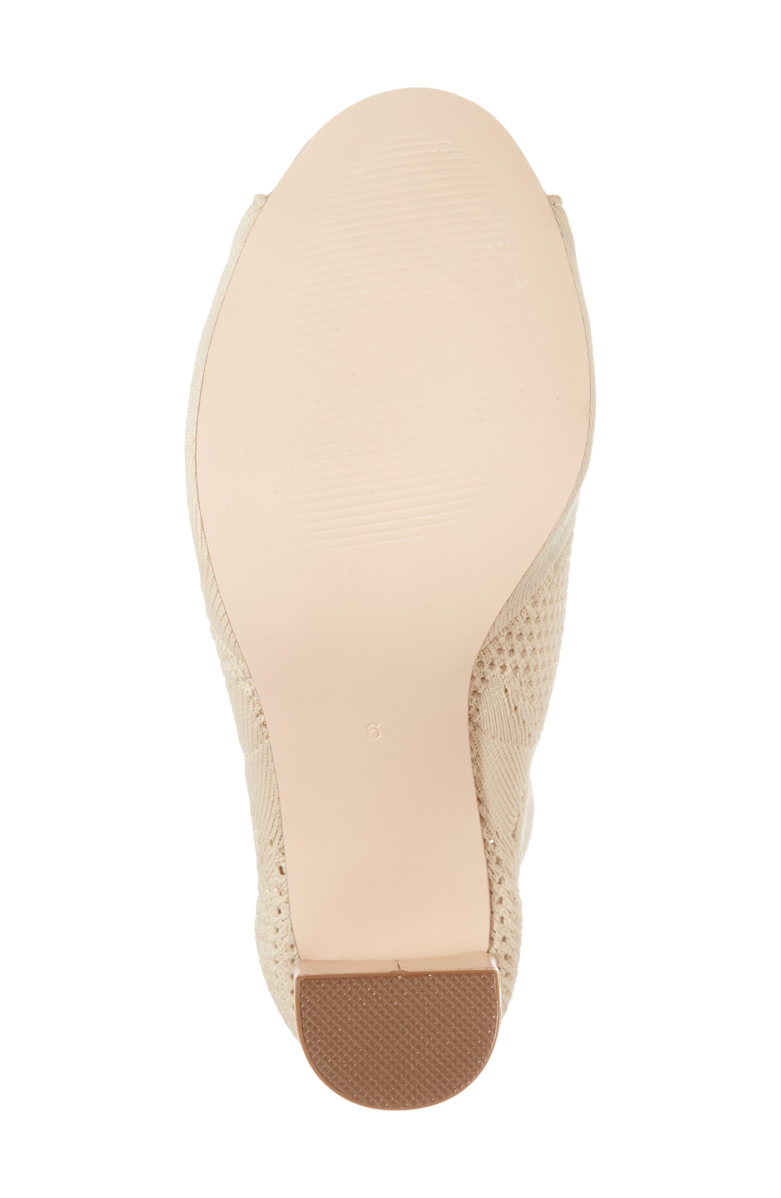 Alternate Image 6  - Matisse Can't Stop Open Toe Sock Bootie (Women)