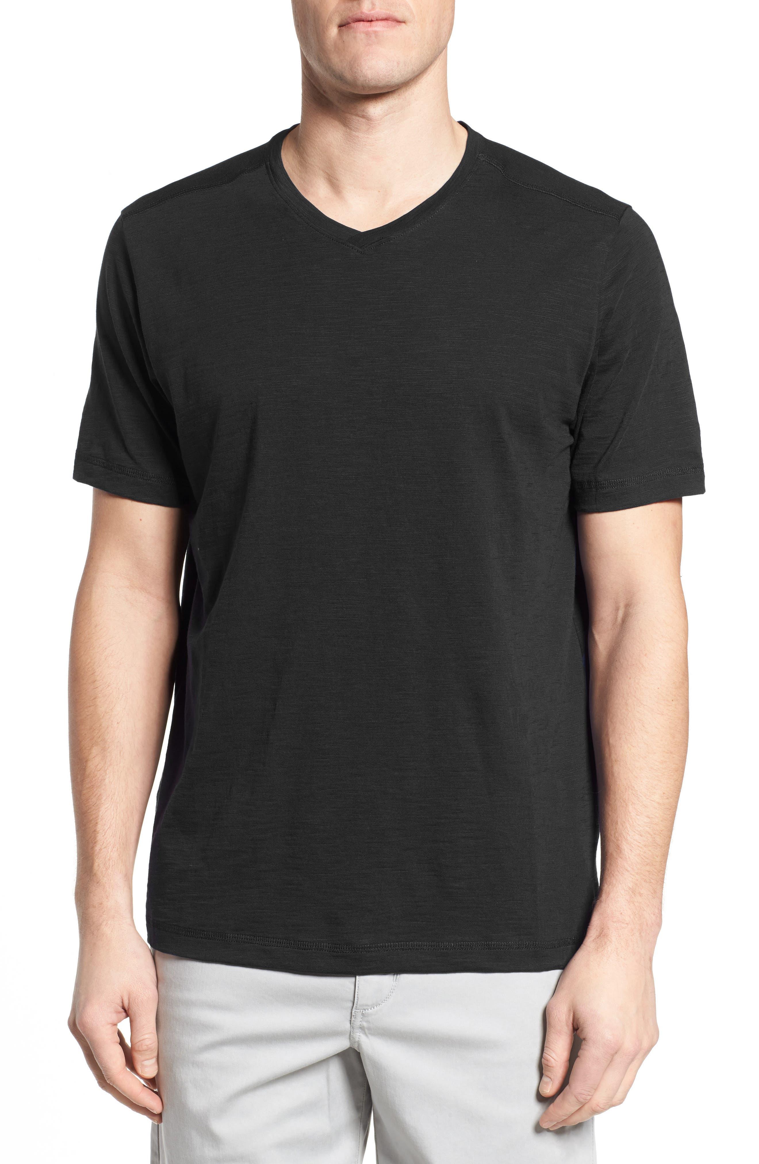 Alternate Image 1 Selected - Tommy Bahama Portside Palms V-Neck T-Shirt