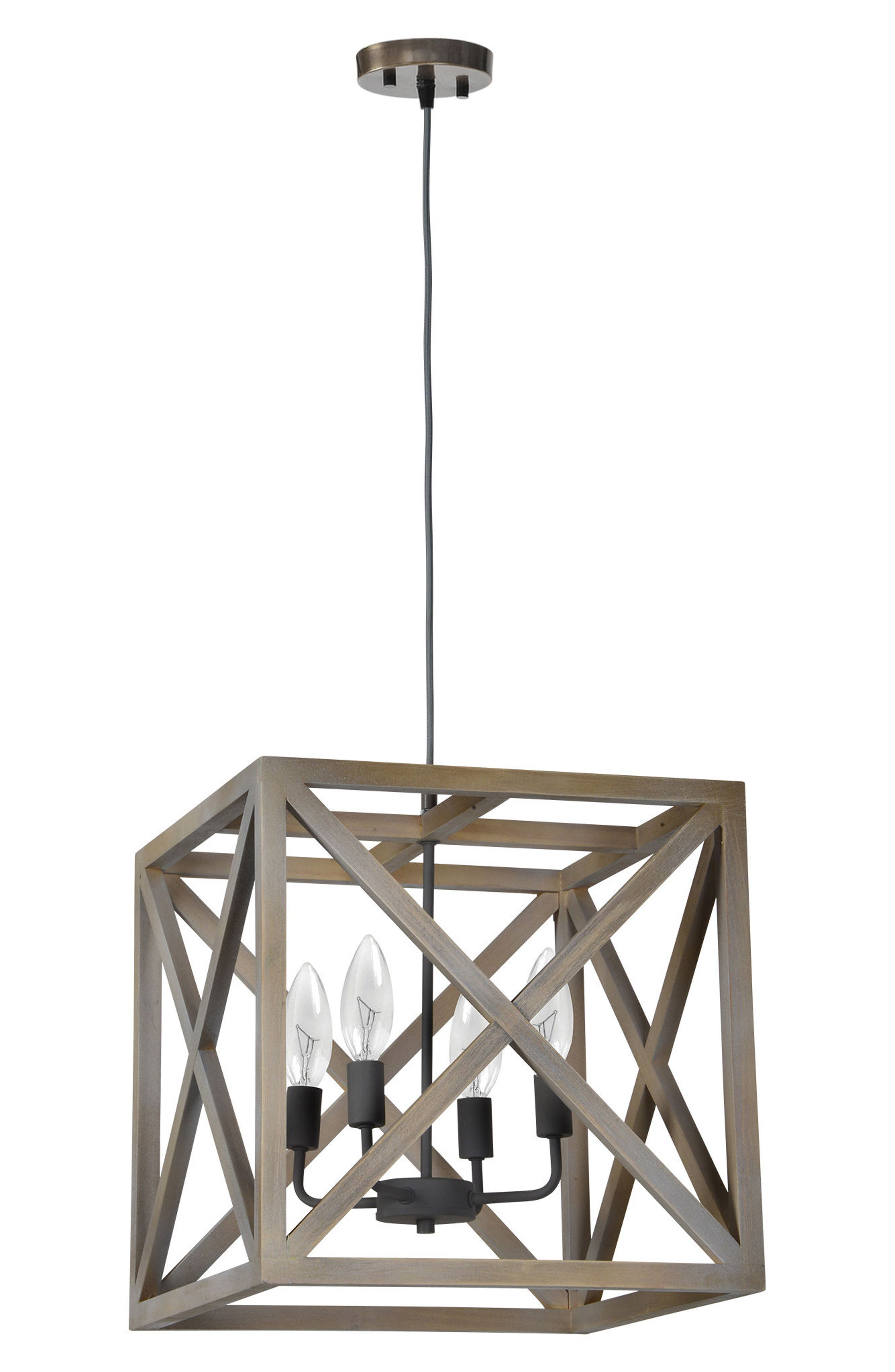 Crate Ceiling Fixture,                         Main,                         color, N/ A