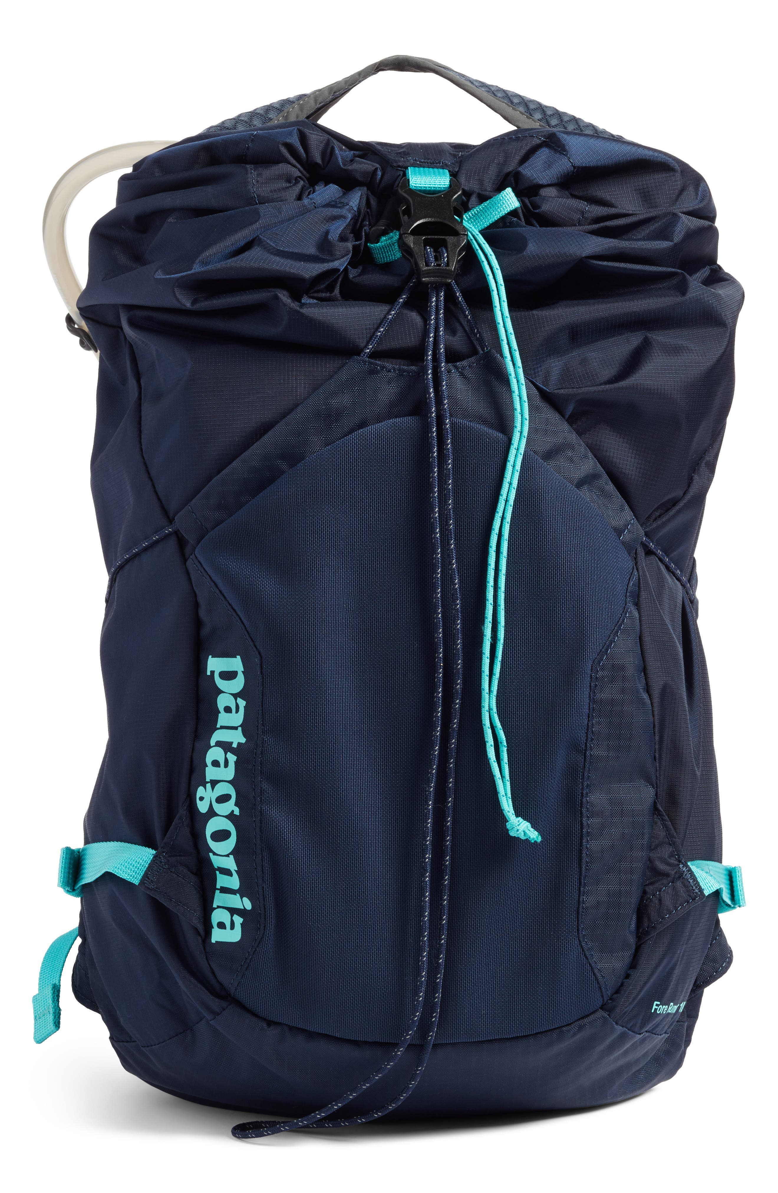 Fore Runner Vest 10L,                         Main,                         color, Navy Blue W/ Strait Blue