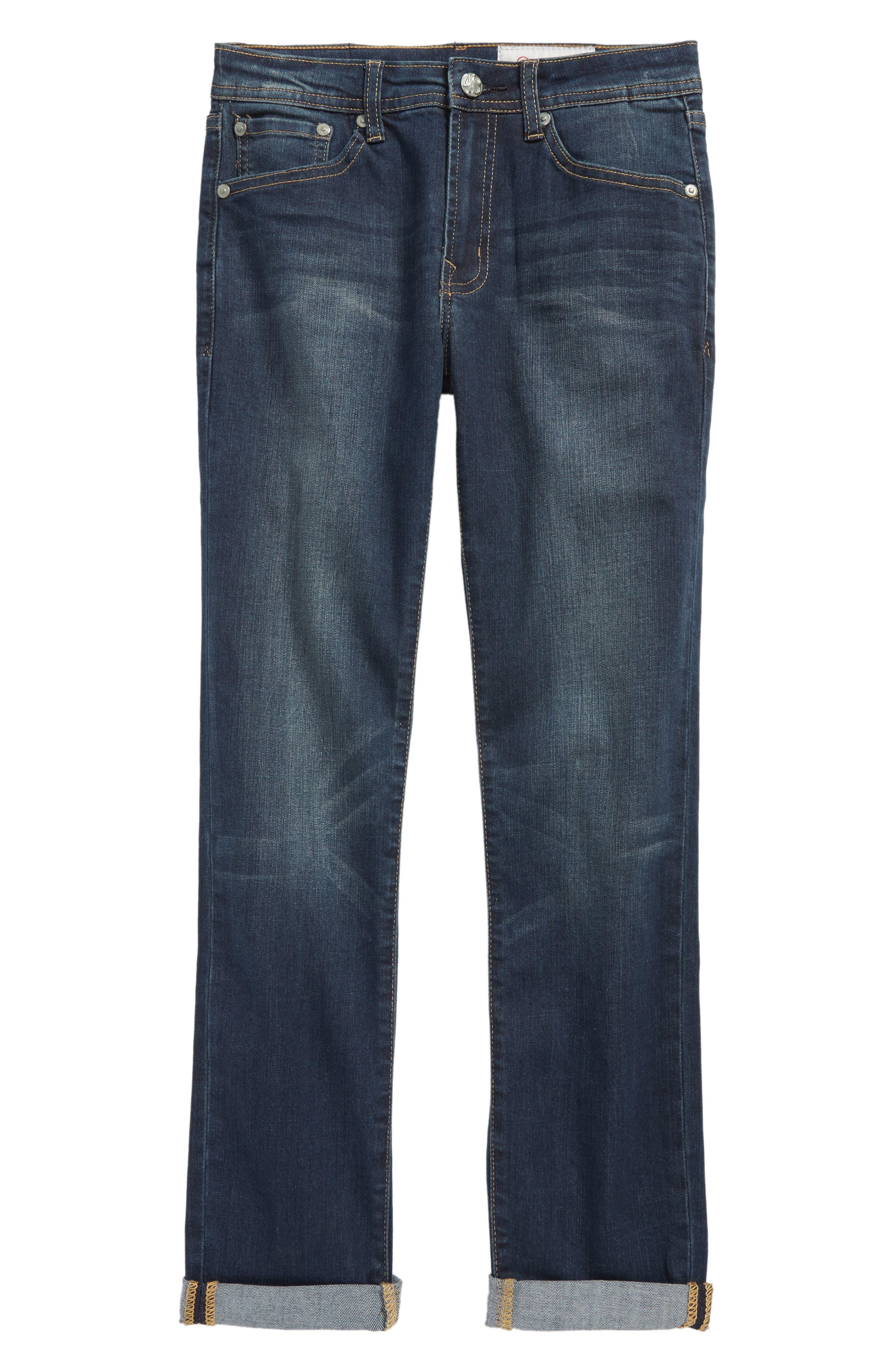 Alternate Image 1 Selected - AG The James Slim Straight Leg Jeans (Big Boys)