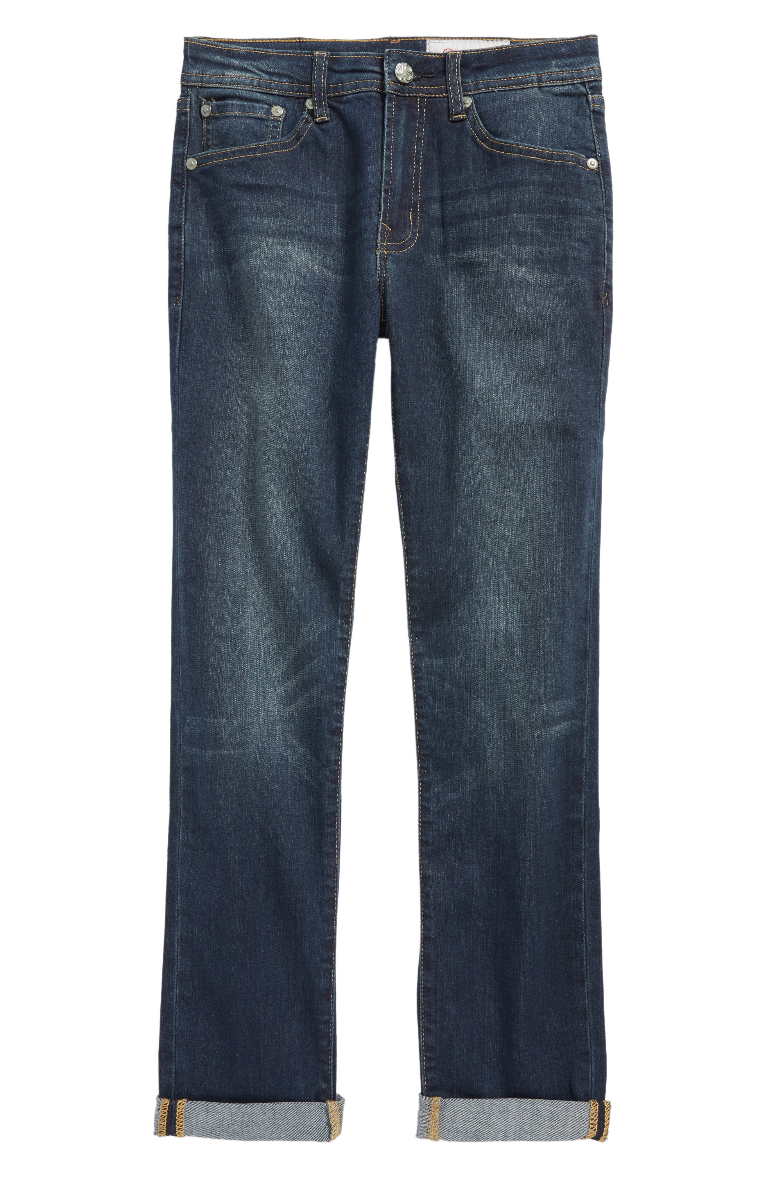 AG The James Slim Straight Leg Jeans,                         Main,                         color, Society Wash