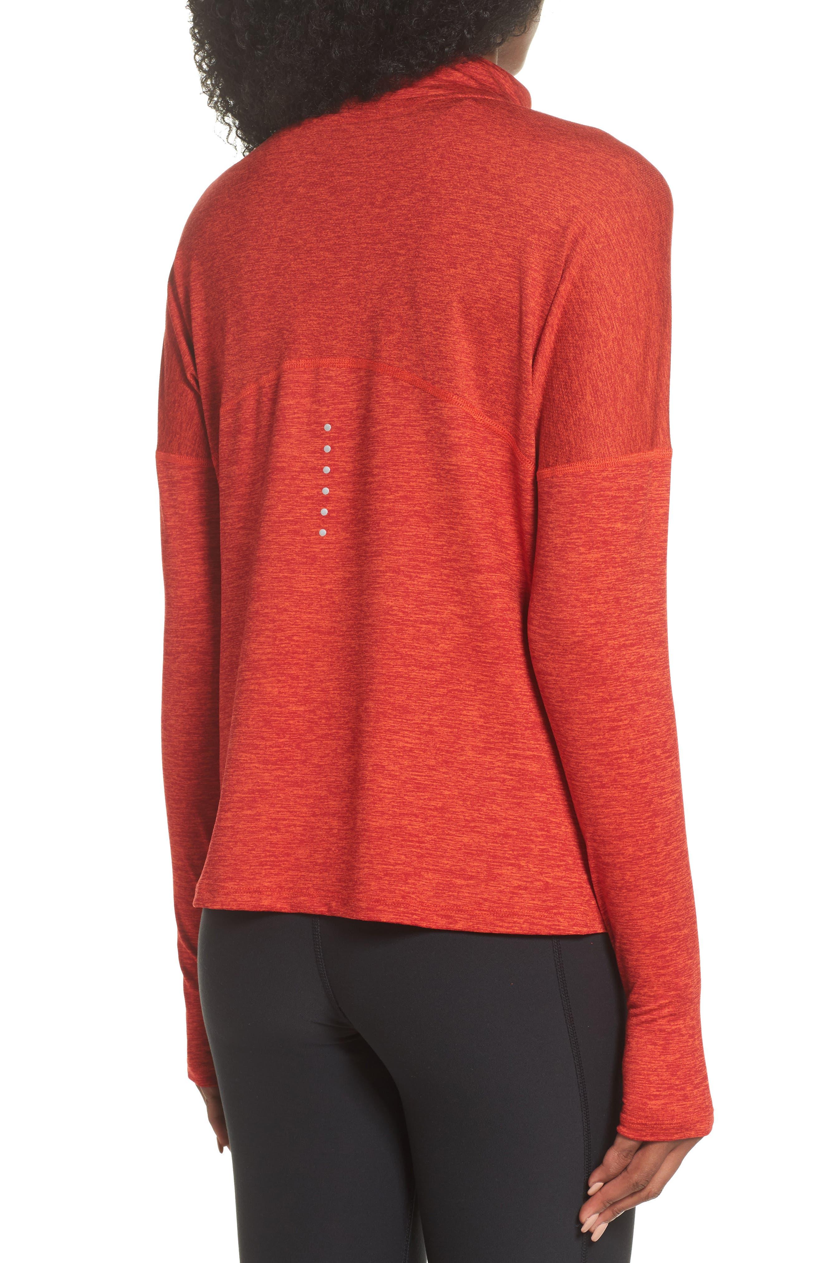 Alternate Image 2  - Nike Dry Element Half Zip Top