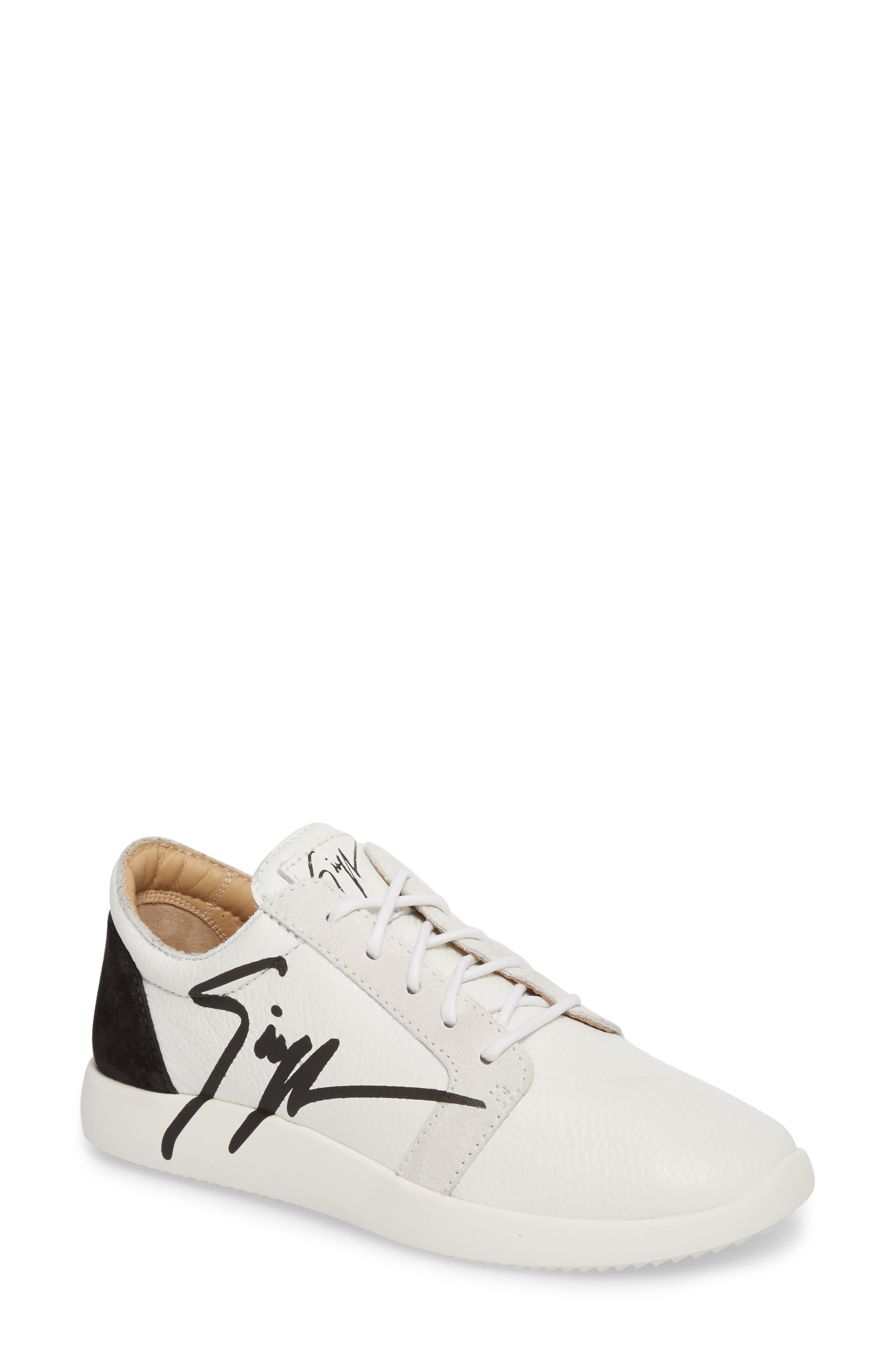 Giuseppe Zanotti Logo Low Top Sneaker (Women)
