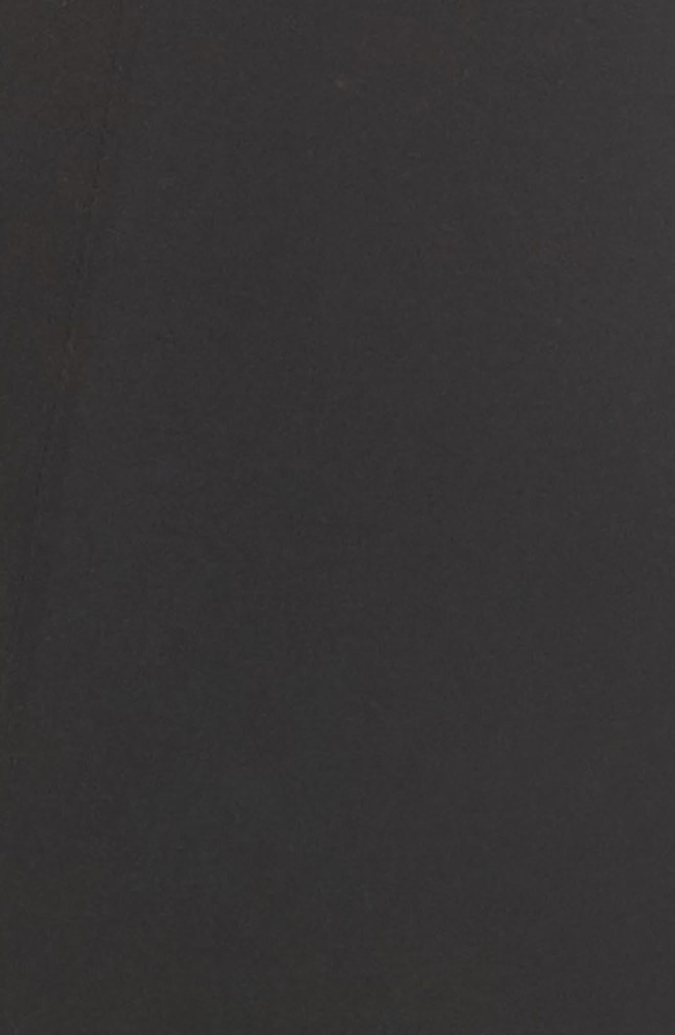 OnCore Open-Bust Mid-Thigh Shaper Bodysuit,                             Alternate thumbnail 6, color,                             Very Black