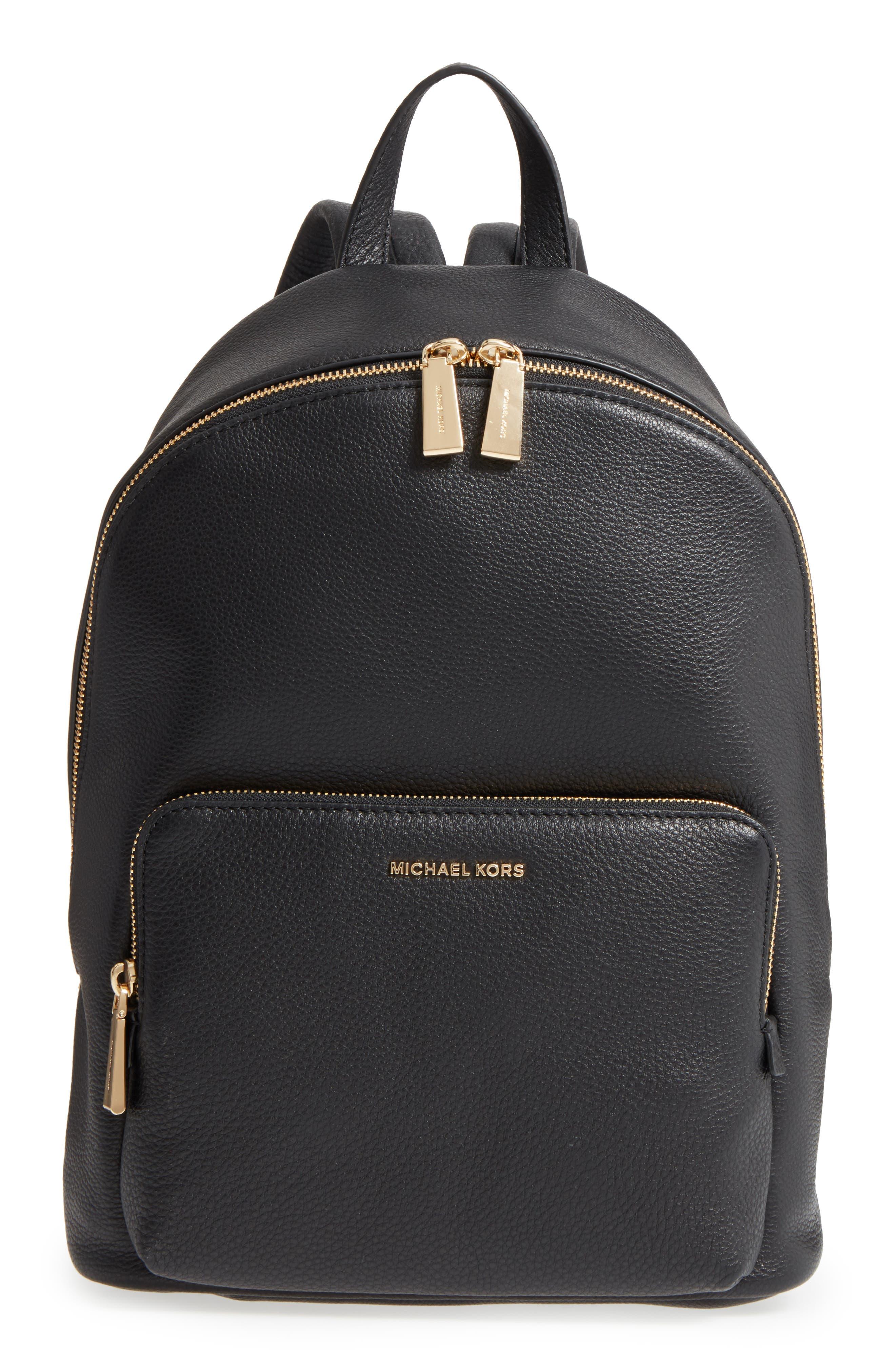 Main Image - Michael Kors Large Wythe Leather Backpack