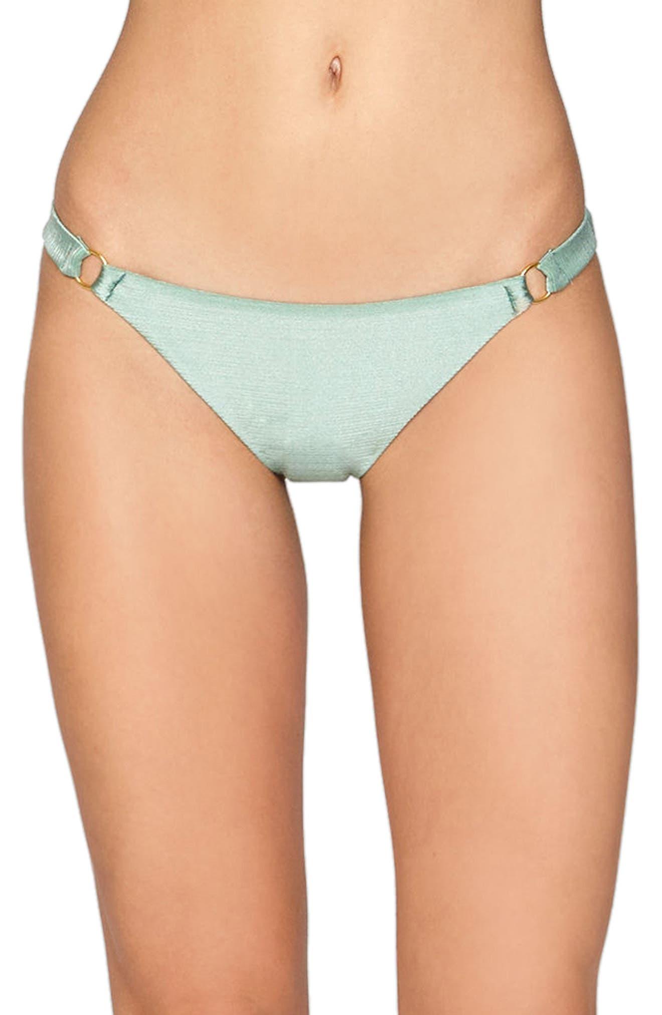 Amuse Society Mallory Lustrous Bikini Bottoms