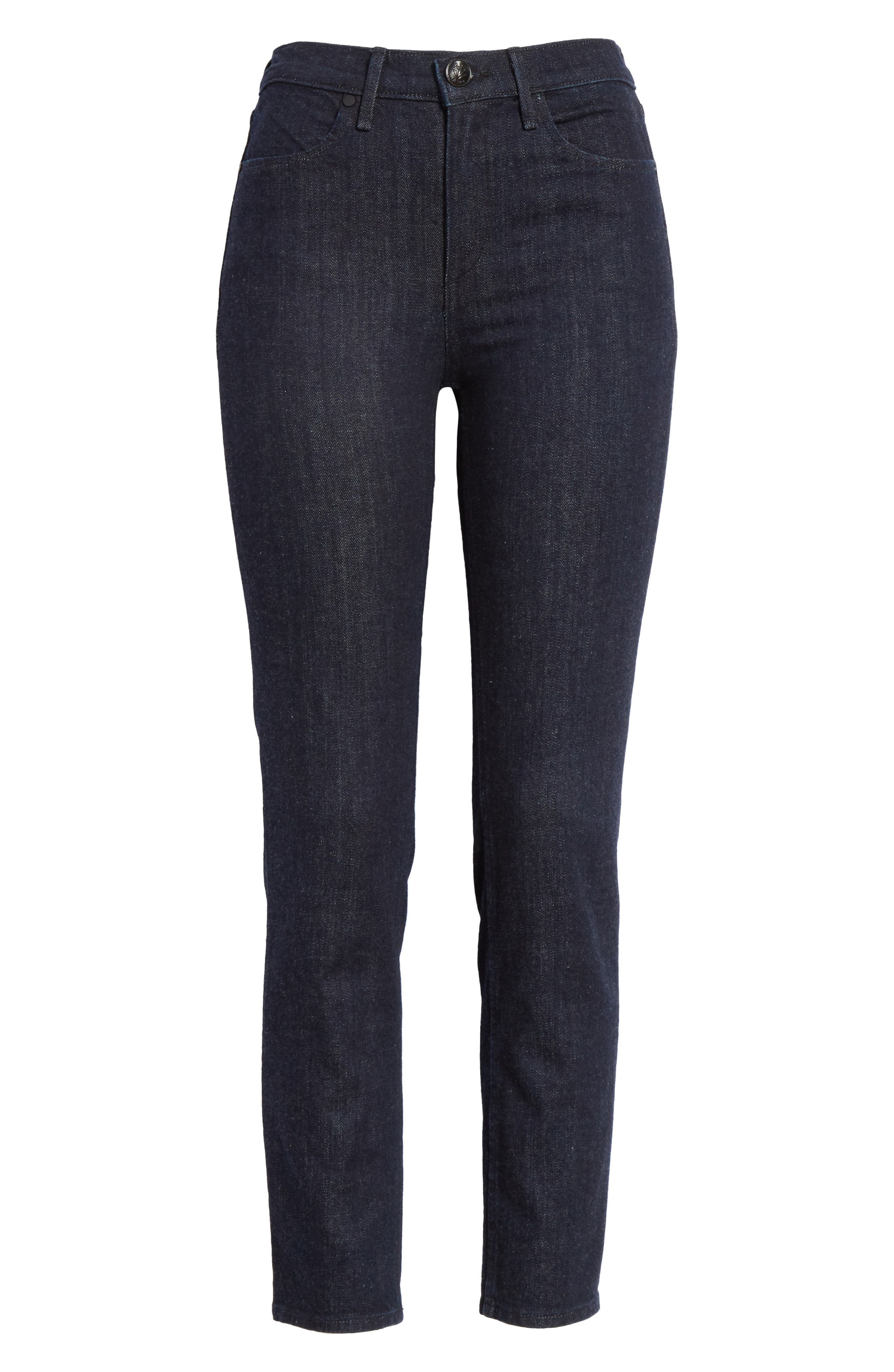 Alternate Image 6  - rag & bone/JEAN Cigarette Leg Skinny Jeans