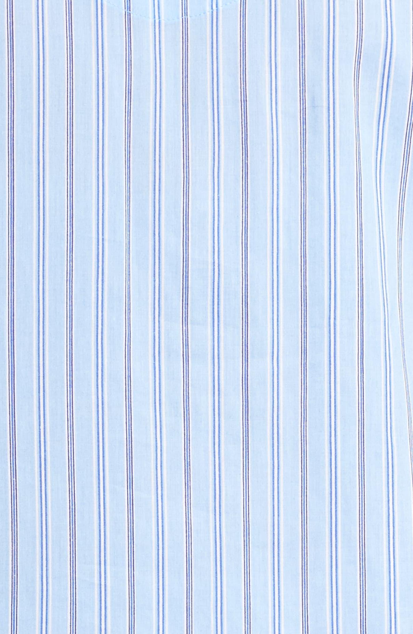 Night Shirt,                             Alternate thumbnail 6, color,                             Blue Stripe