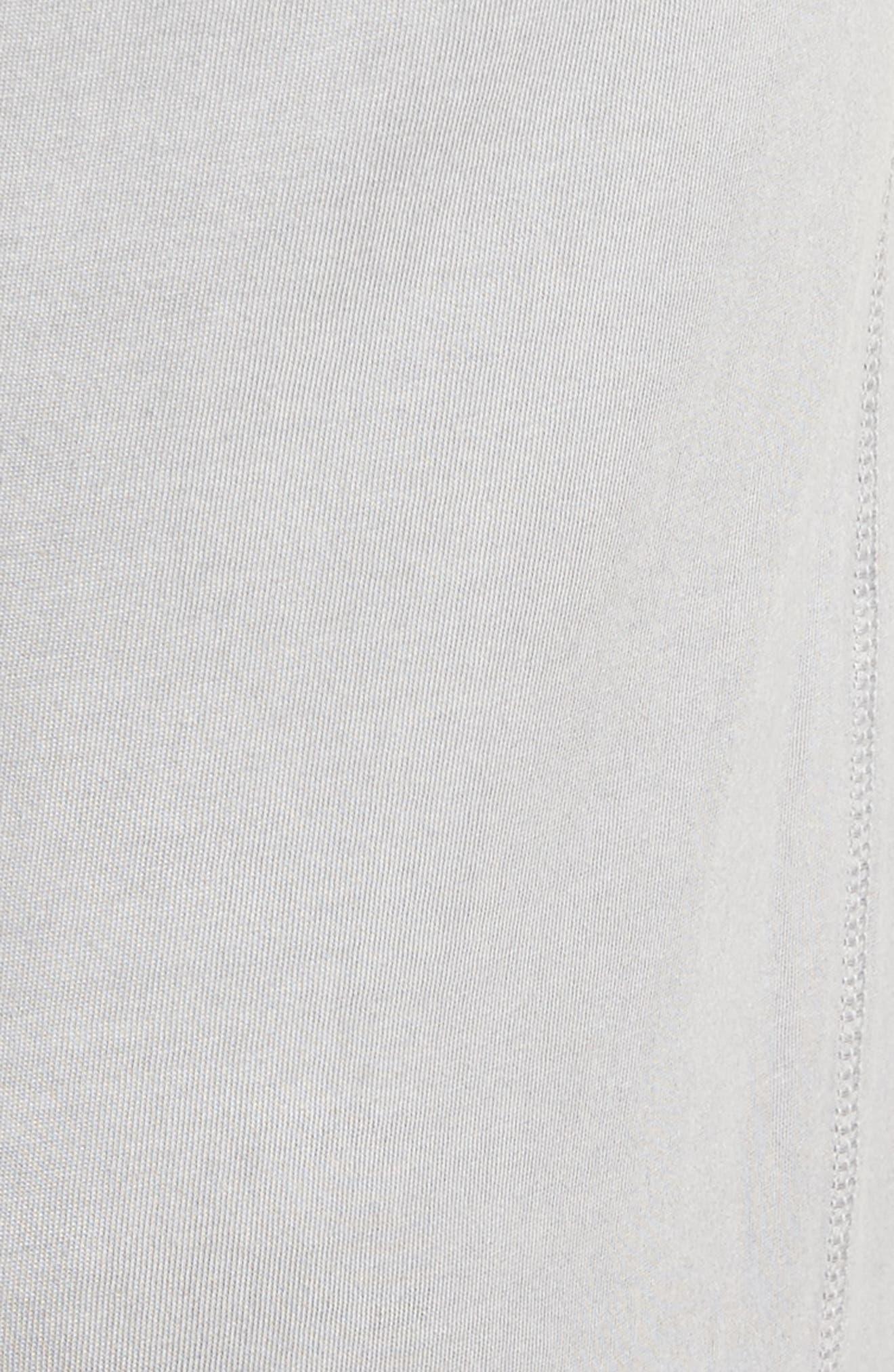 Peruvian Pima Cotton Lounge Pants,                             Alternate thumbnail 5, color,                             Grey