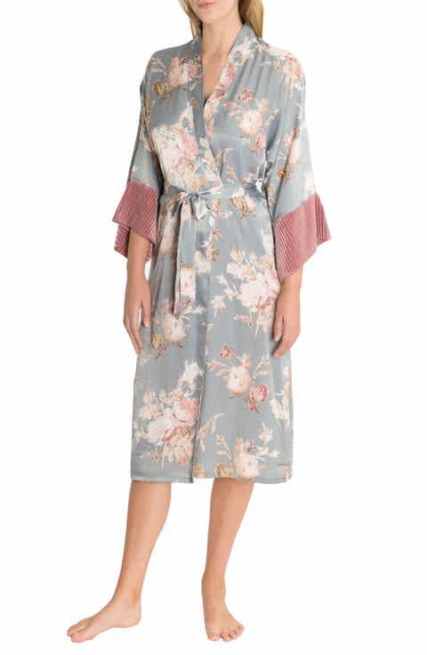 Midnight Bakery Satin Kimono Robe Sale