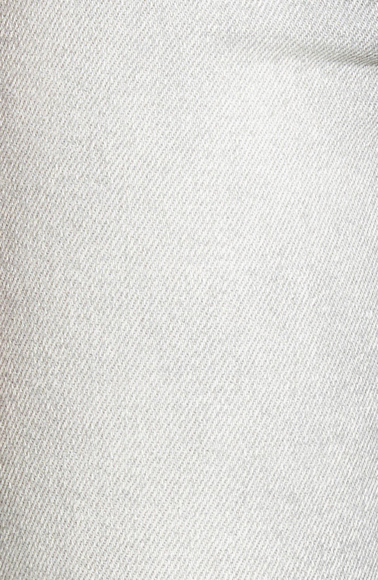 Alternate Image 6  - Current/Elliott The Stiletto High Waist Ankle Skinny Jeans (Astor)