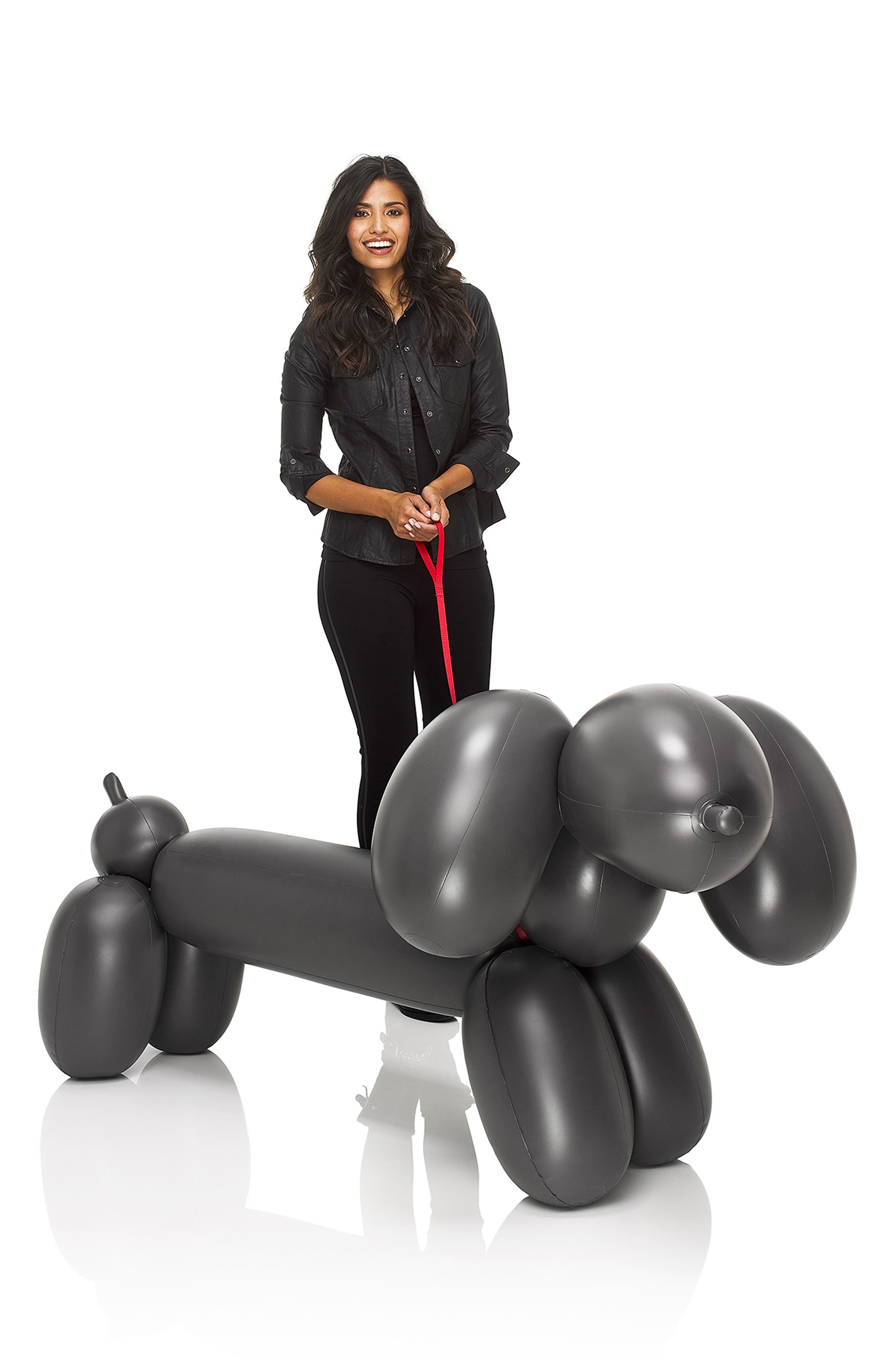 Dolly Inflatable Dog Decoration,                             Alternate thumbnail 2, color,                             Anthracite
