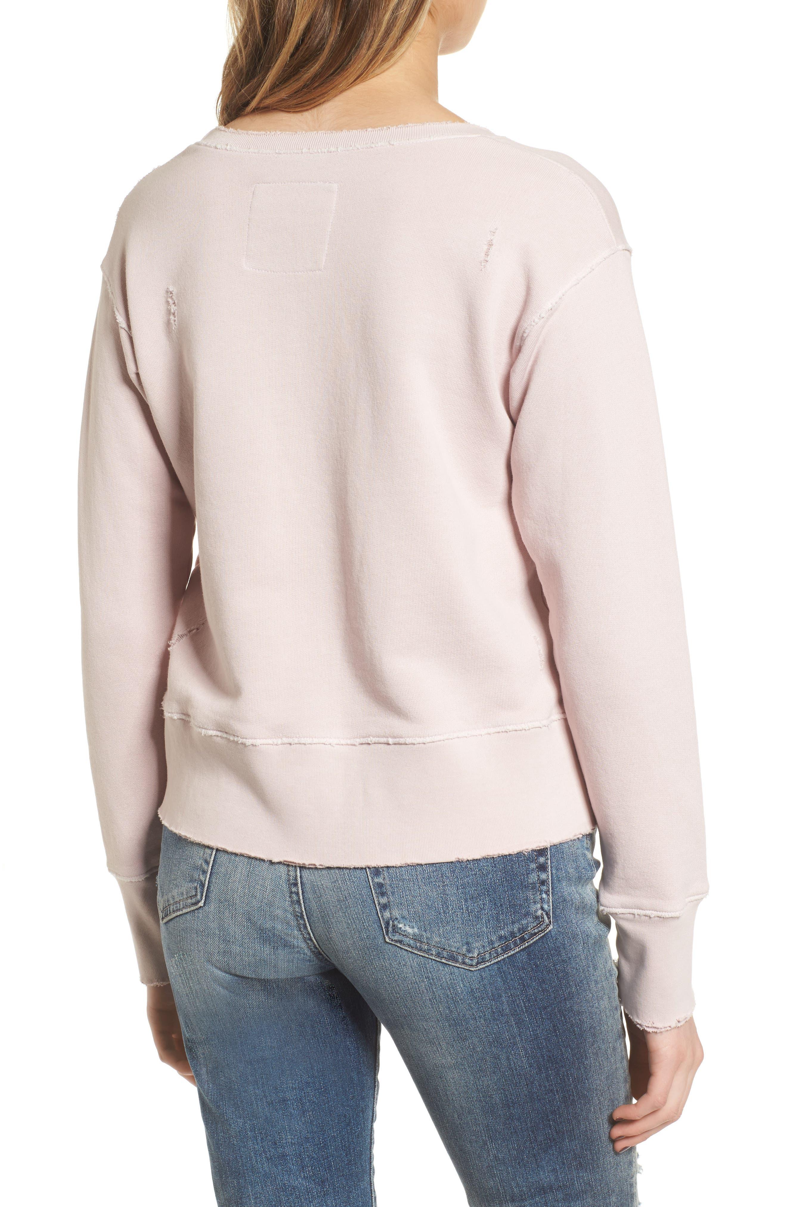 Tee Lab Cotton Sweatshirt,                             Alternate thumbnail 2, color,                             Bazooka 10 Year Vintage Wash