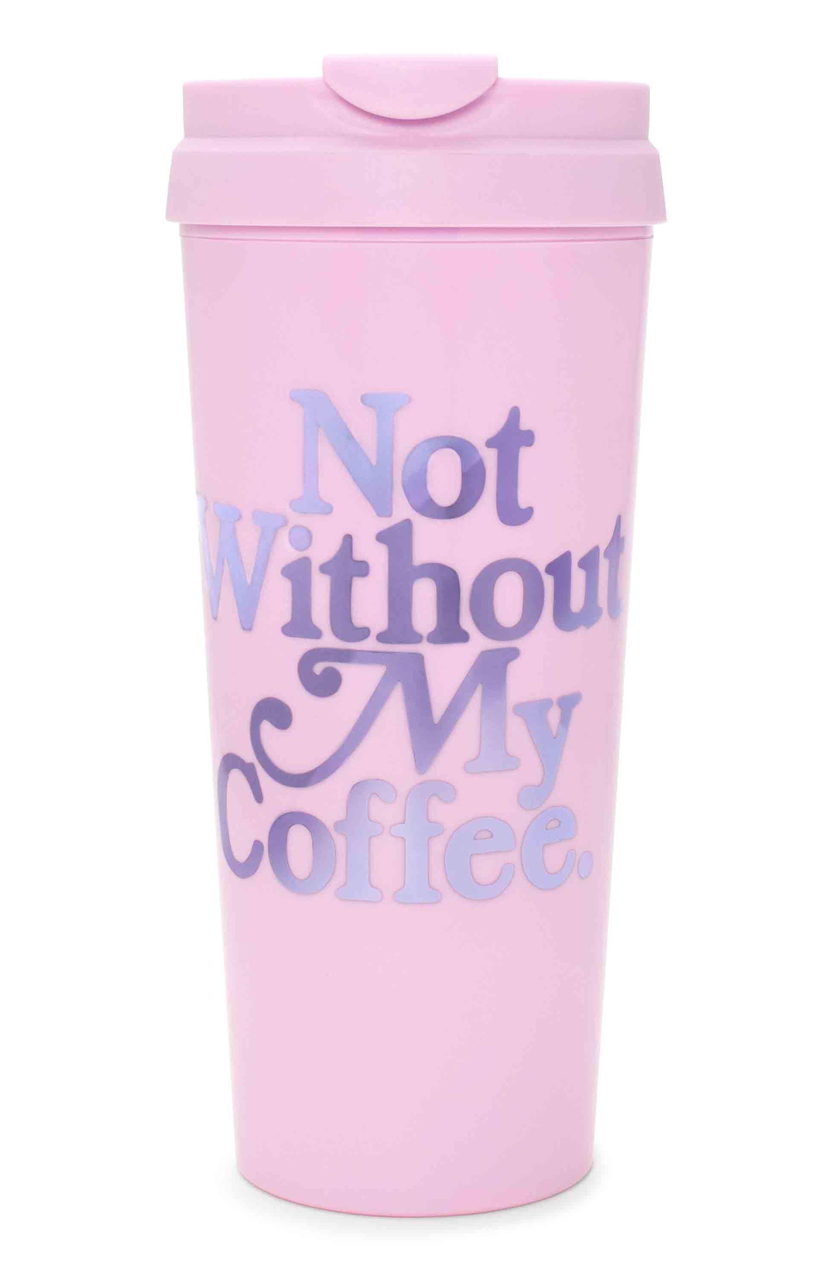 Main Image - ban.do Not Without My Coffee Travel Mug