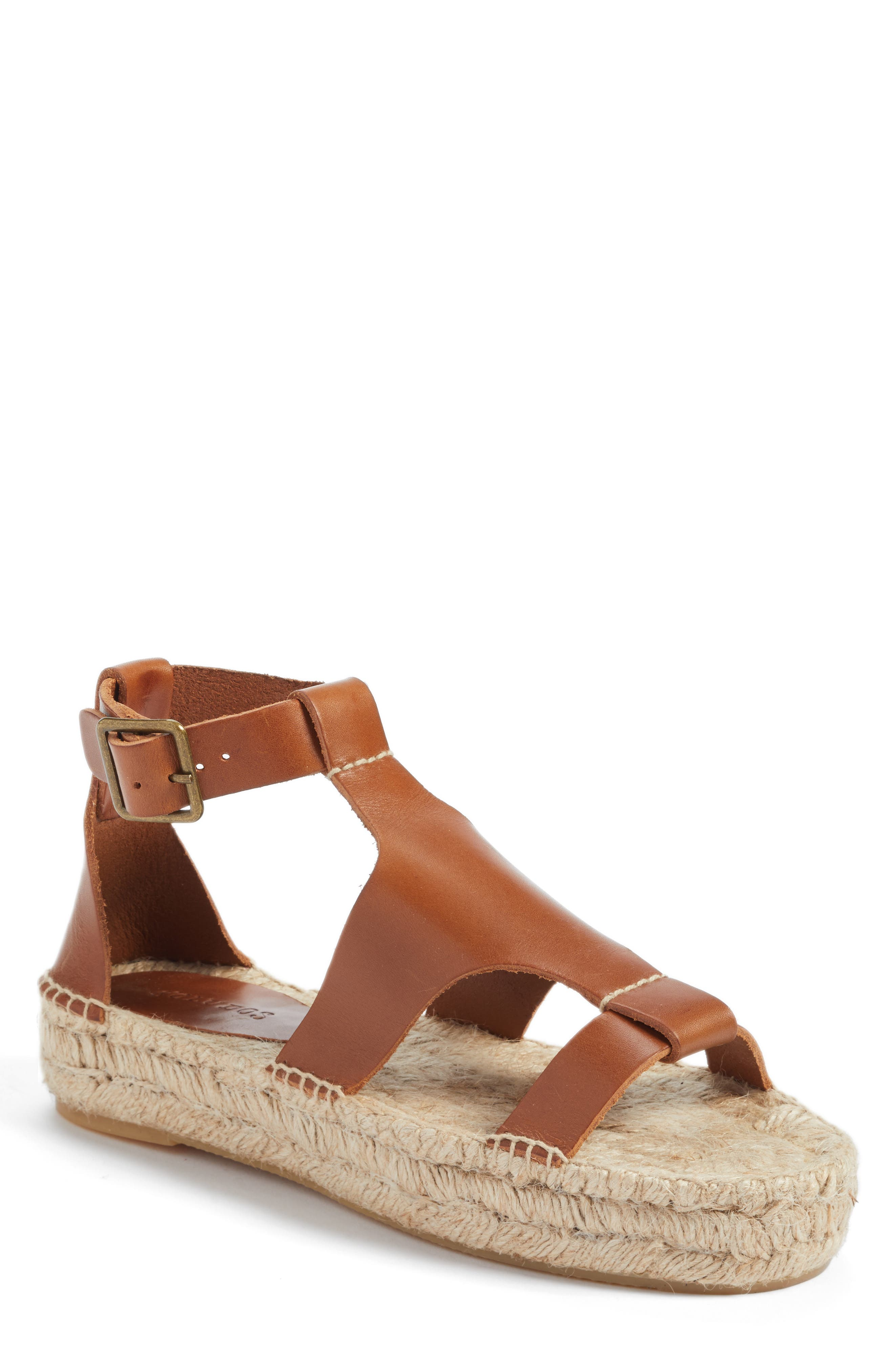 Alternate Image 1 Selected - Soludos Strappy Espadrille Sandal (Women)