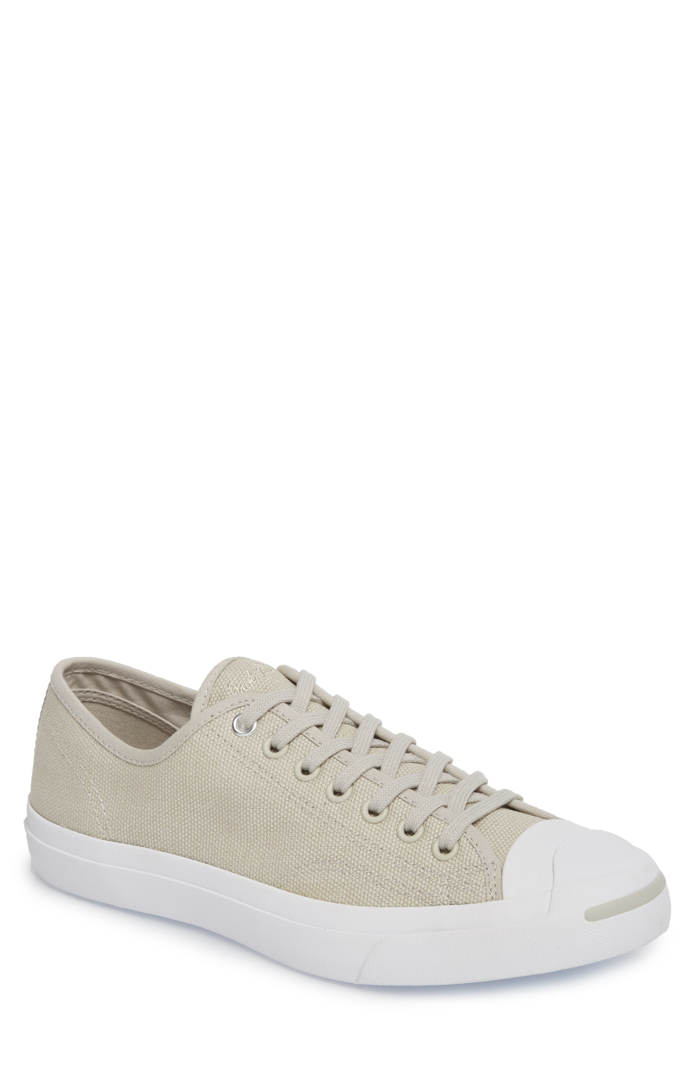 Jack Purcell Sneaker,                         Main,                         color, Pale Grey Canvas
