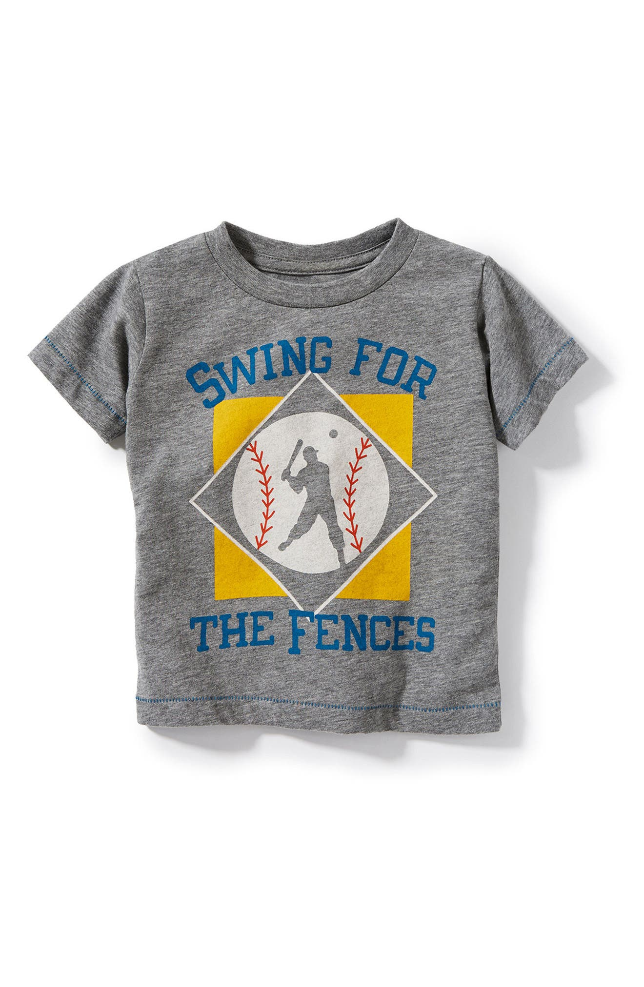 Peek Swing For The Fences Graphic T-Shirt (Baby Boys)