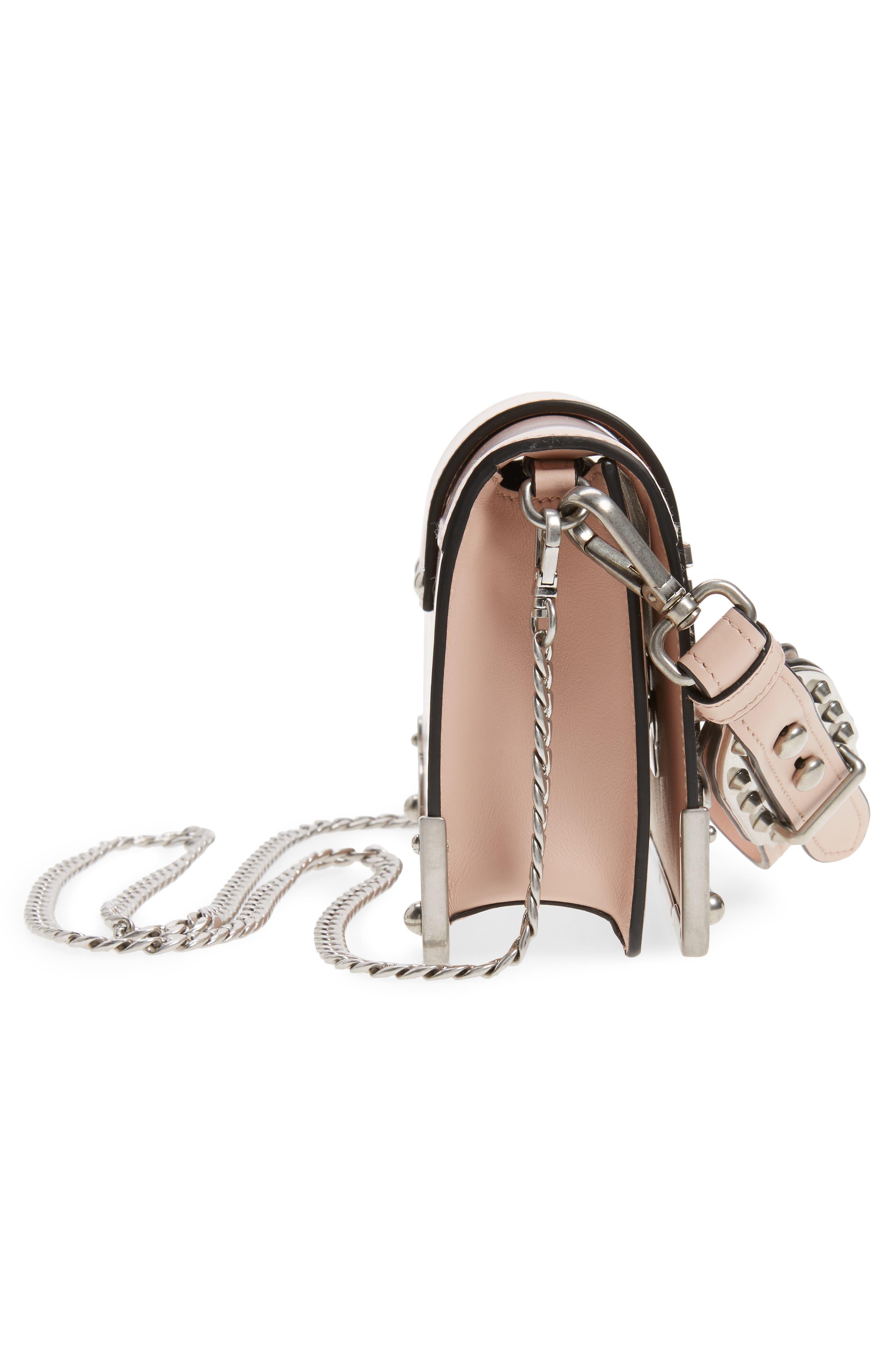 Alternate Image 4  - Prada Small Cahier Leather Shoulder Bag