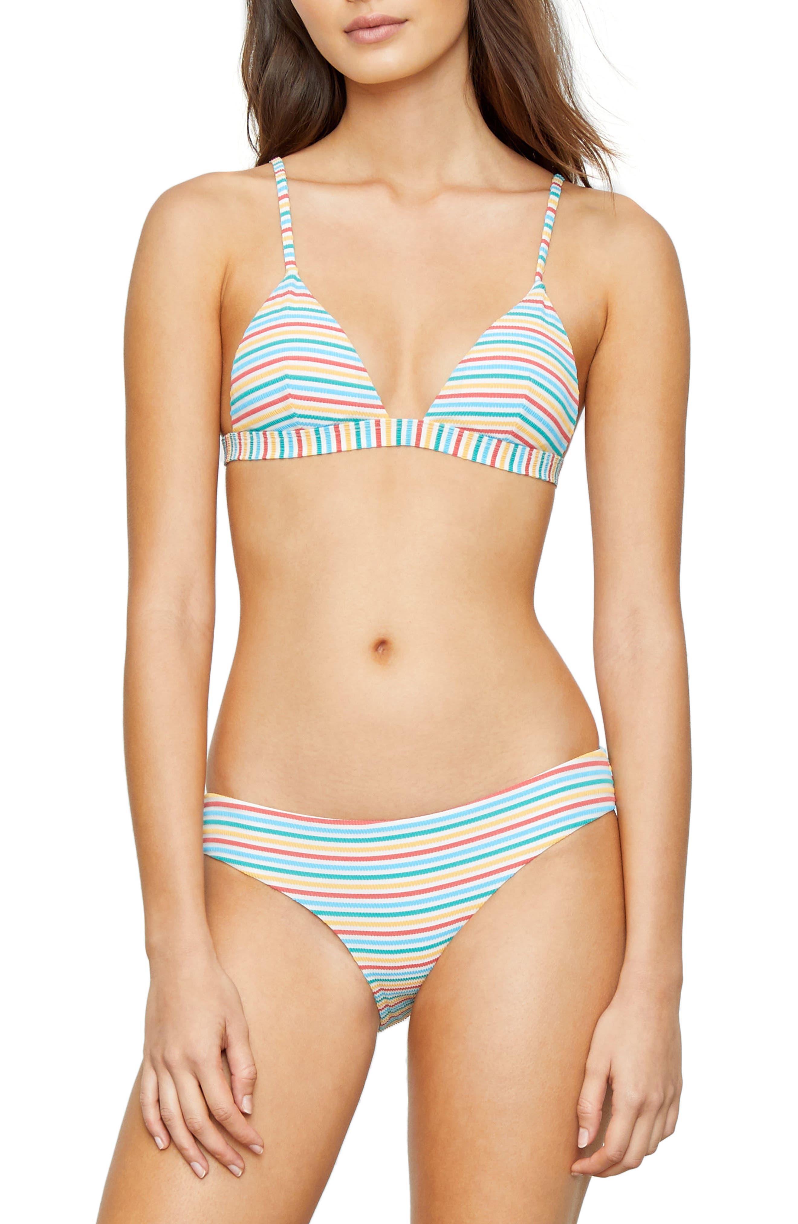 Alternate Image 3  - Onia Stripe Bikini Bottoms