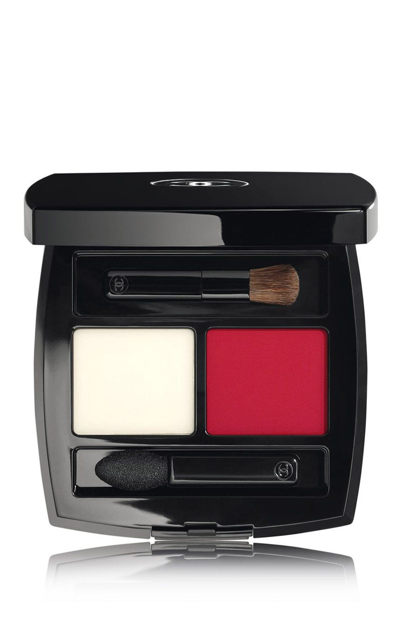 POUDRE LEVRES<br />Lip Balm and Powder Duo,                             Main thumbnail 1, color,                             415 Rosso Parthenope