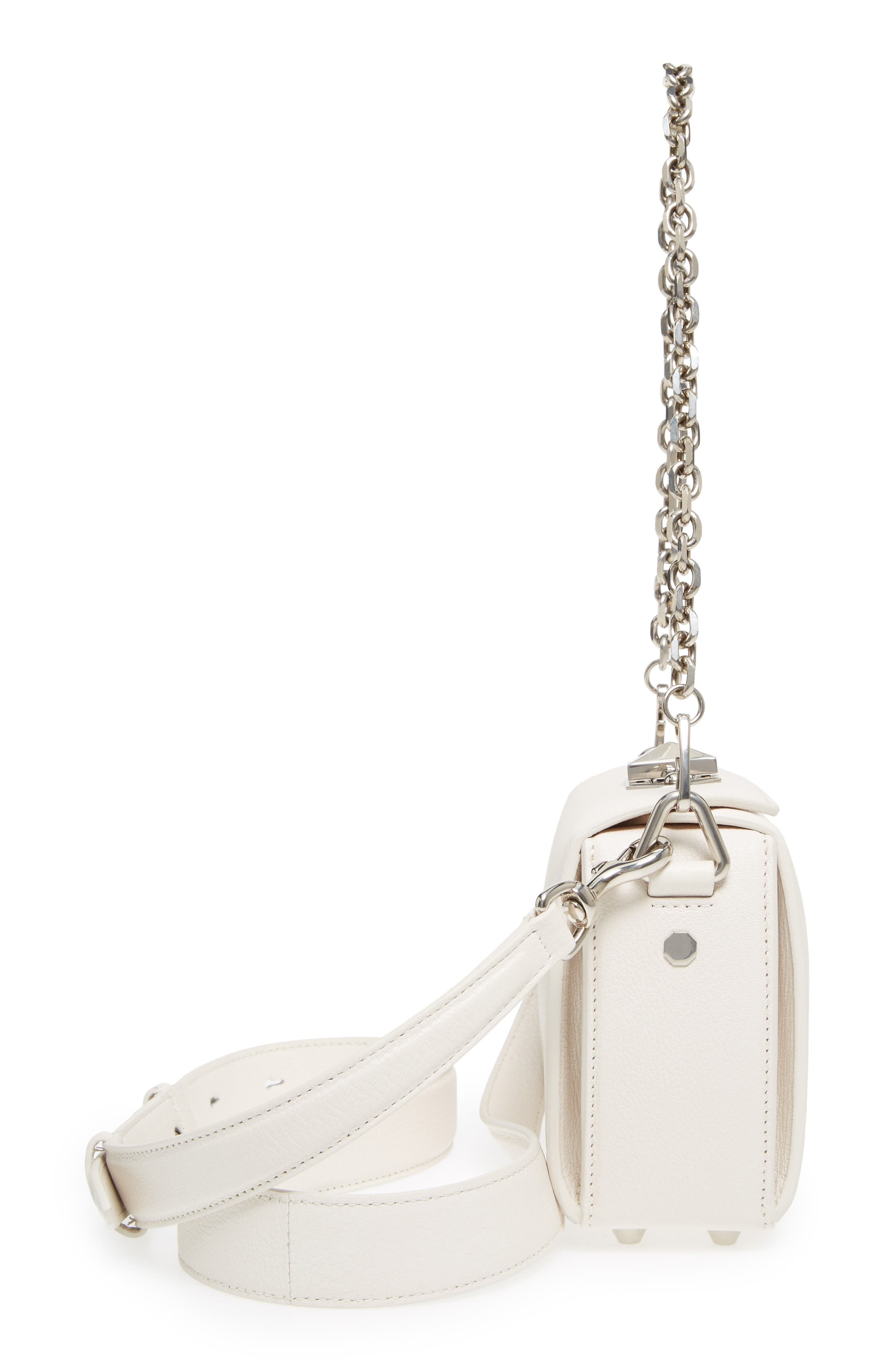 Alternate Image 4  - Alexander McQueen Box Bag 16 Grained Leather Bag